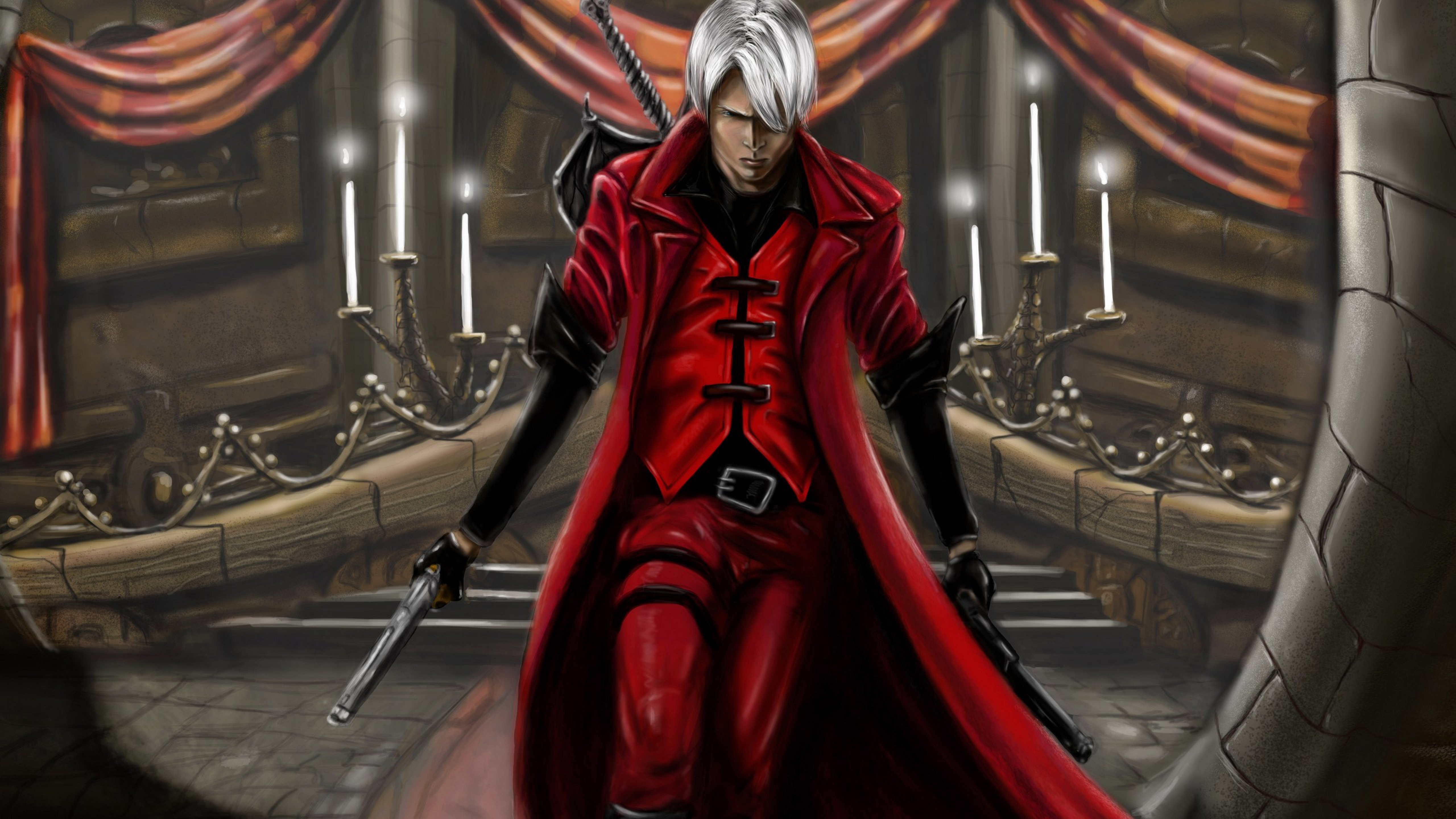 5120x2880 Devil May Cry 1 Dmc 1 Demon 5k Wallpaper Hd Games 4k
