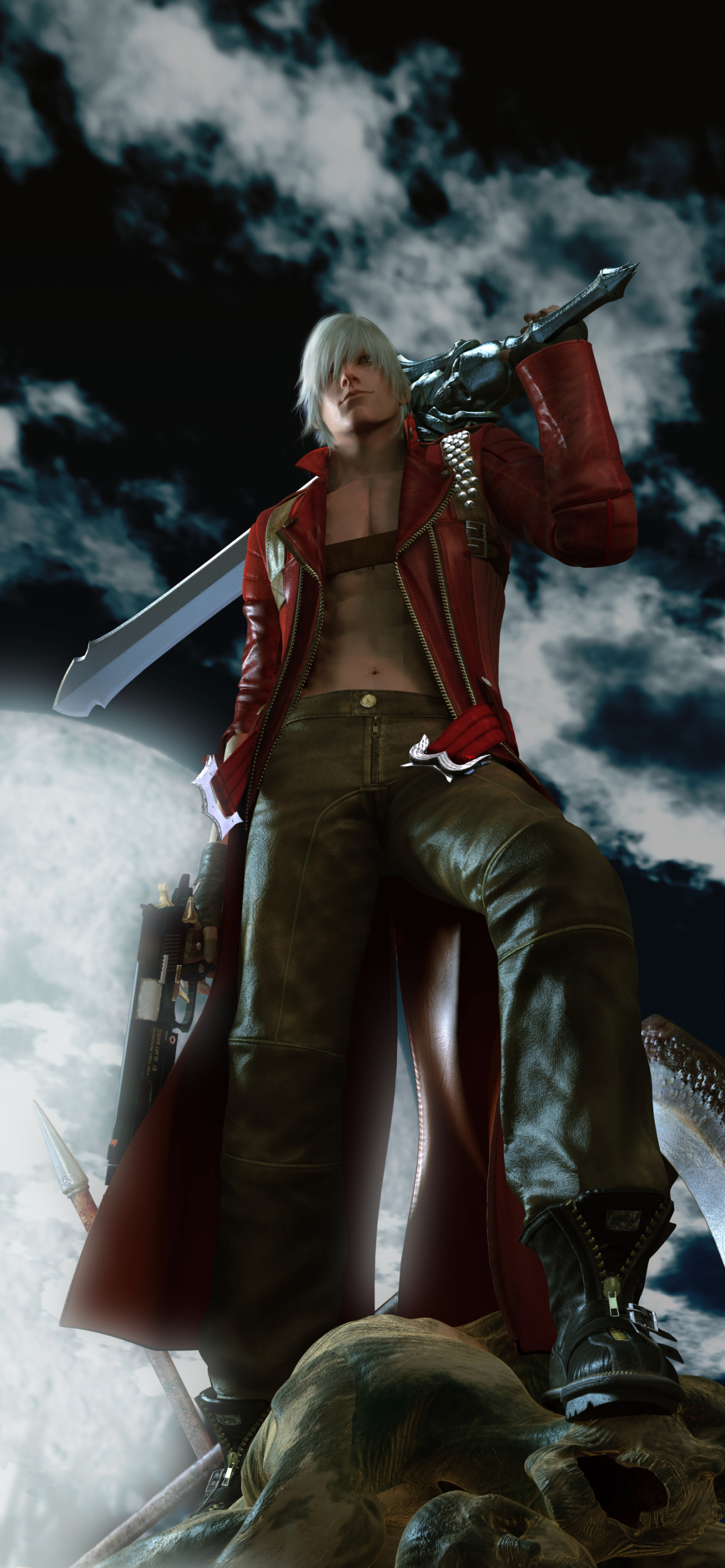 1242x2688 Devil May Cry 3 Iphone Xs Max Wallpaper Hd Games 4k