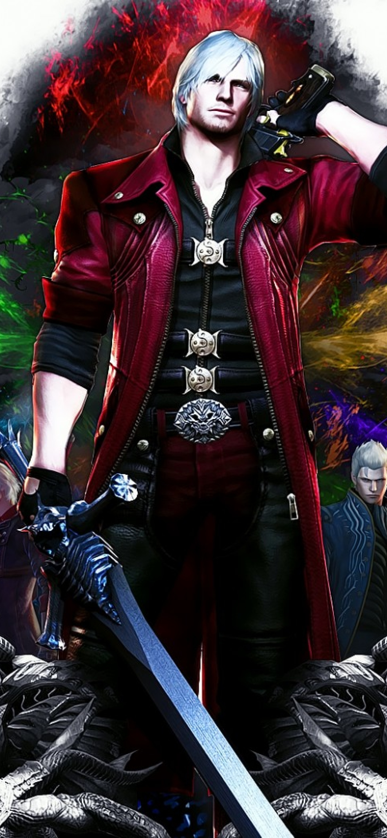 1242x2688 Devil May Cry 4 Special Edition Dante Iphone Xs Max