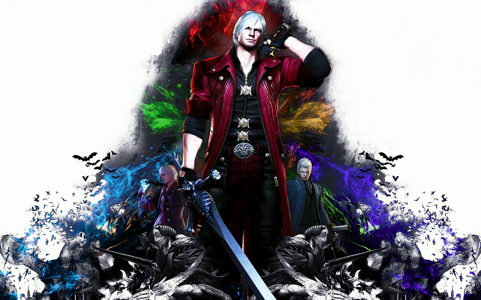 Devil May Cry 4 Special Edition Dante Wallpaper Hd Games 4k