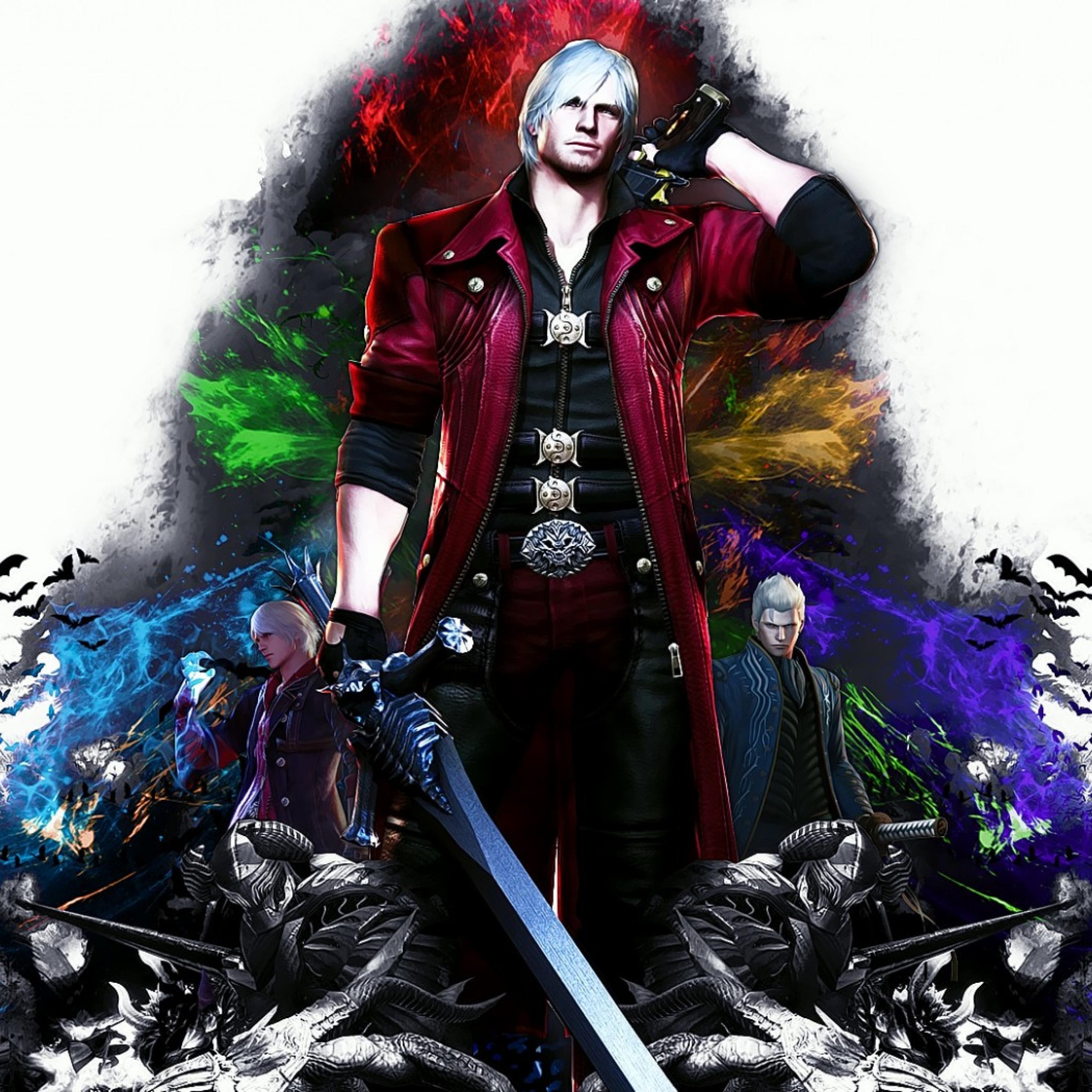 2932x2932 Devil May Cry 4 Special Edition Dante Ipad Pro Retina