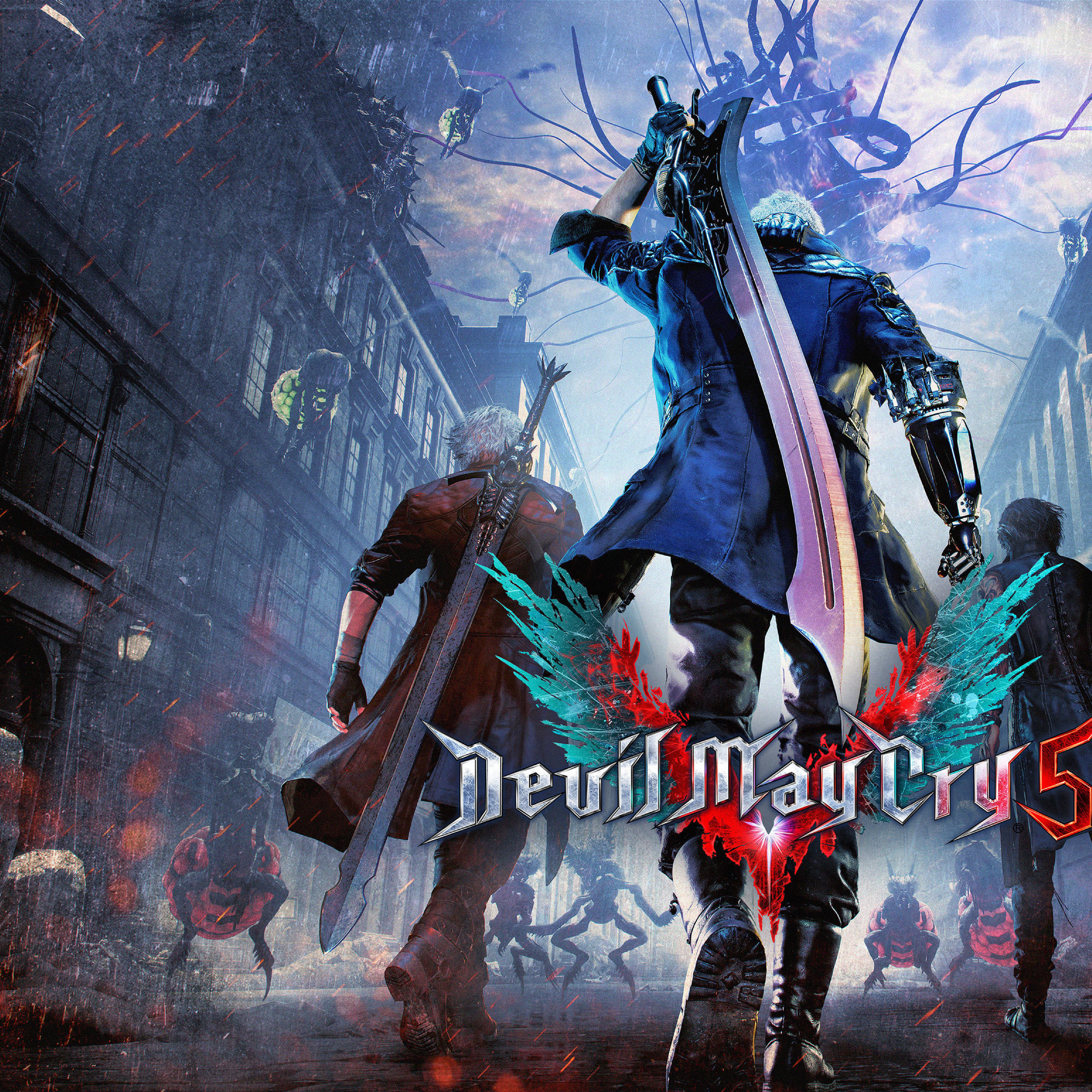 Devil May Cry 5: Devil May Cry 5 Art, HD 4K Wallpaper