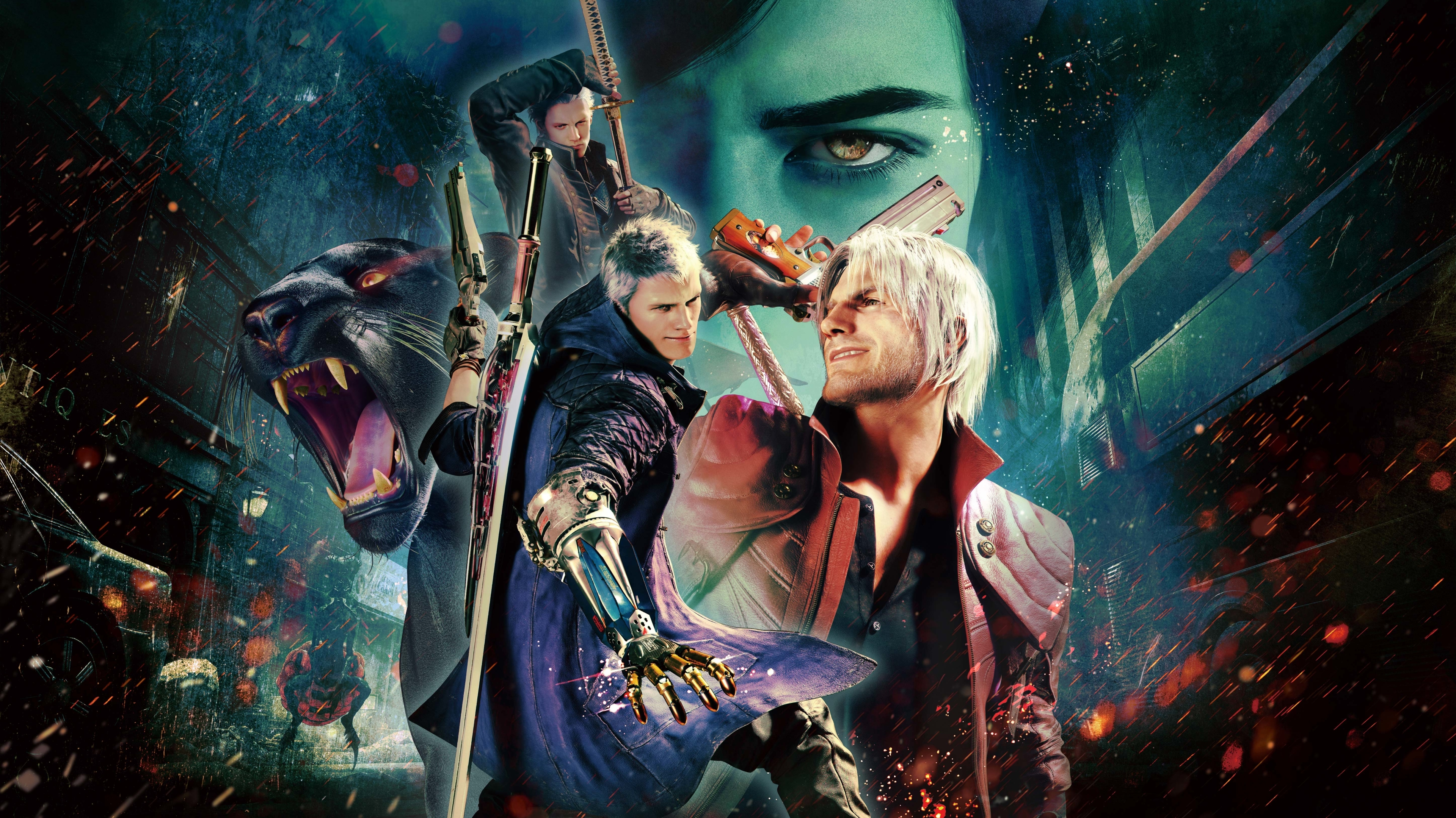 3840x2160 Devil May Cry 5 Special Edition 5K 4K Wallpaper ...