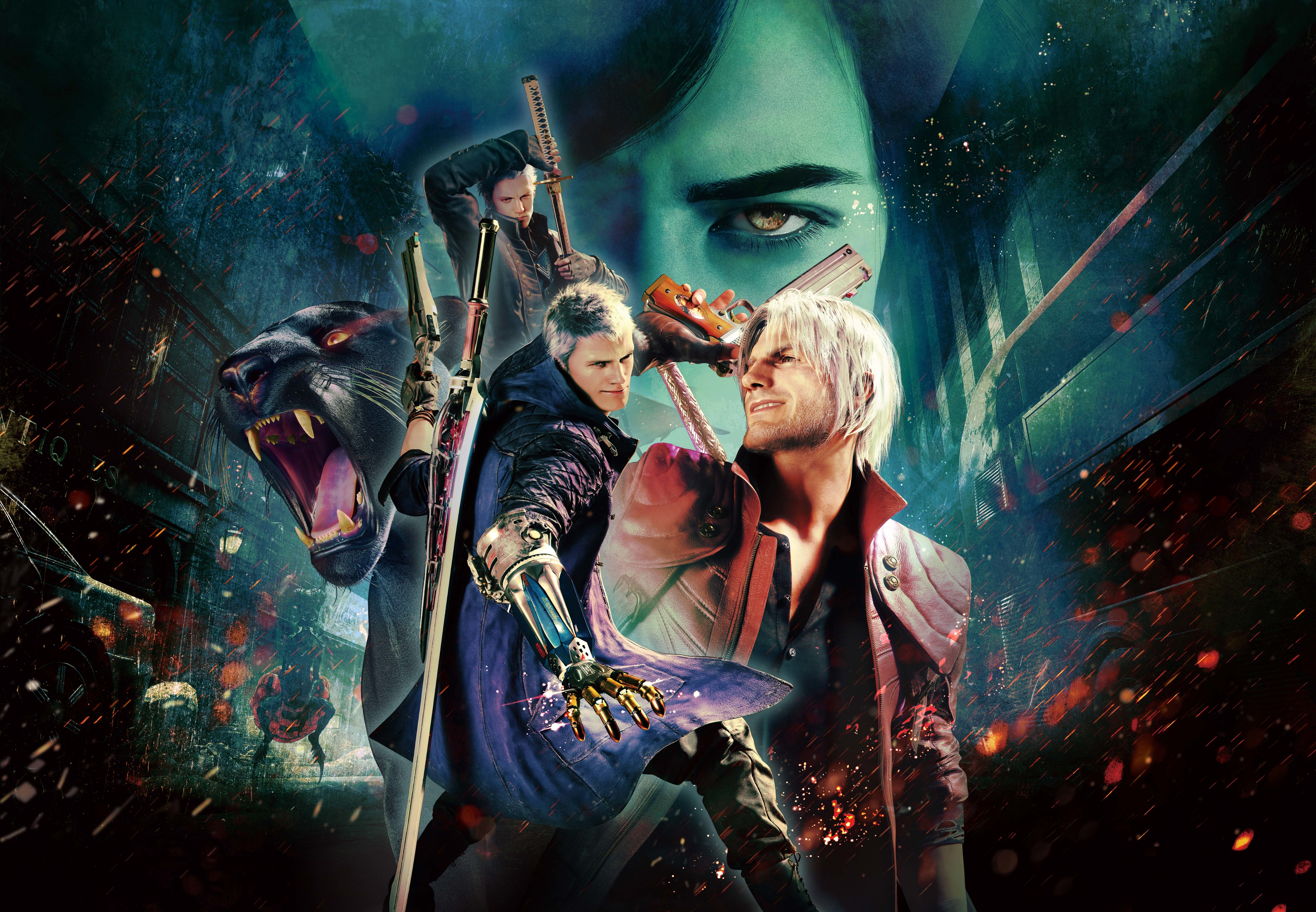 Devil May Cry 5 Special Edition 5K Wallpaper, HD Games 4K ...