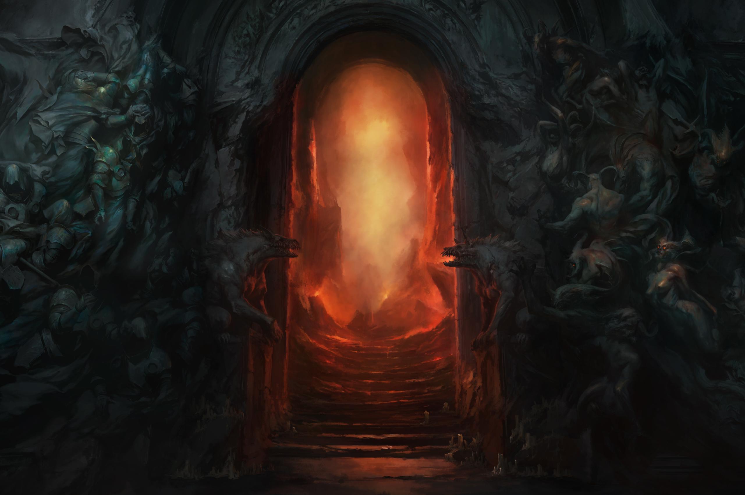 2560x1700 Diablo 4 Hell Gate Chromebook Pixel Wallpaper ...
