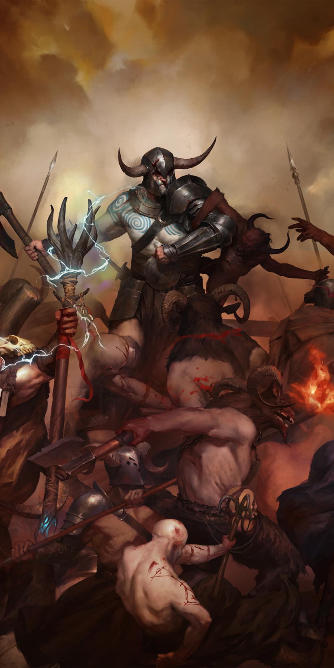 1080x2160 Diablo 4 One Plus 5T,Honor 7x,Honor view 10,Lg ...