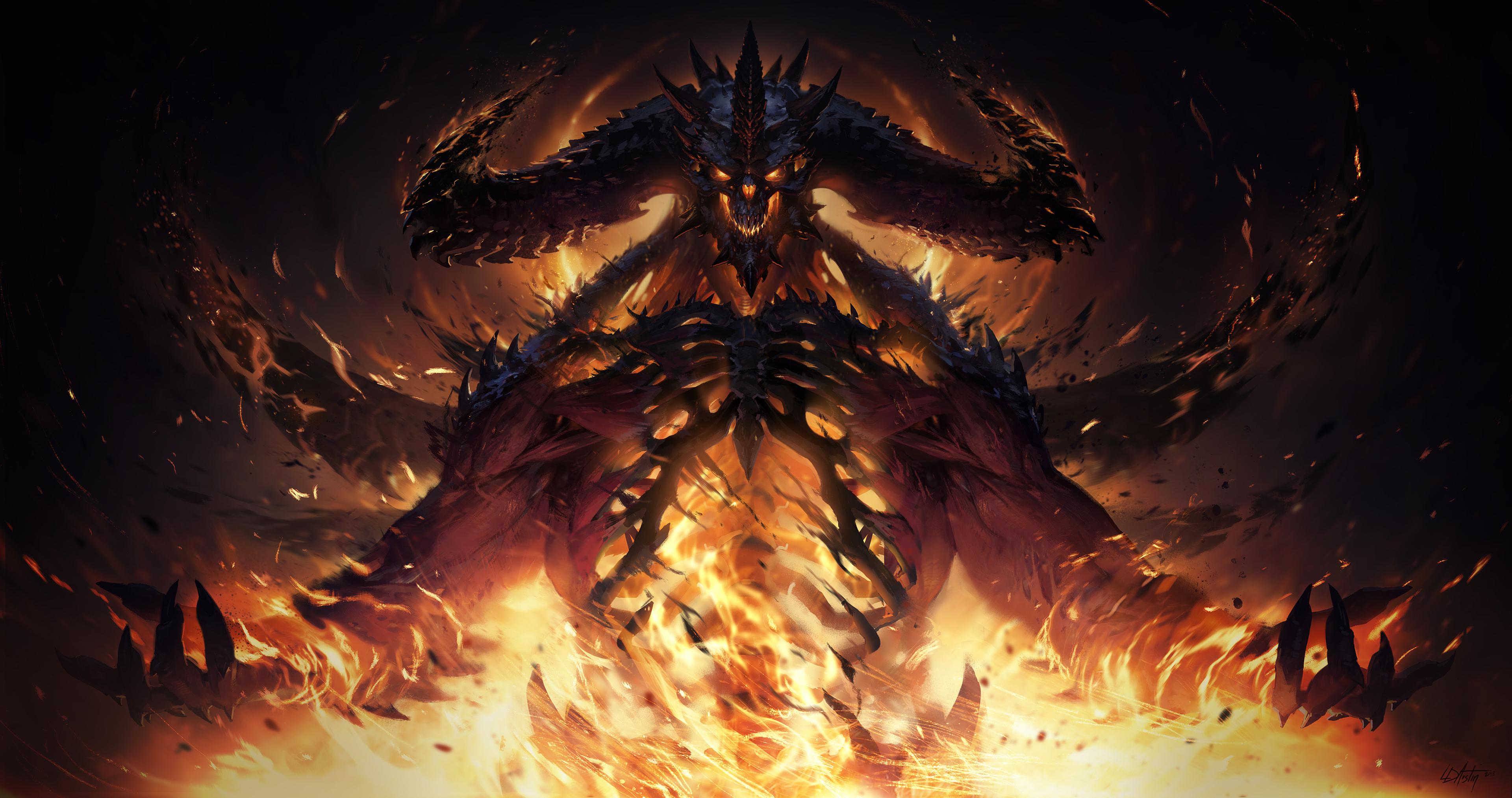 Diablo Immortal Wallpaper Hd Games 4k Wallpapers Images