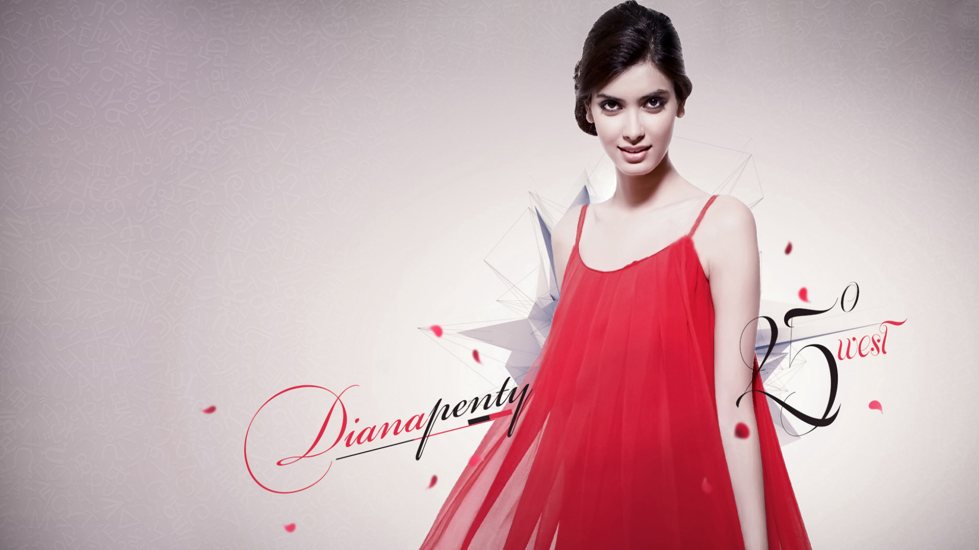 Download Diana Penty In Red 1680x1050 Resolution Full Hd Wallpaper