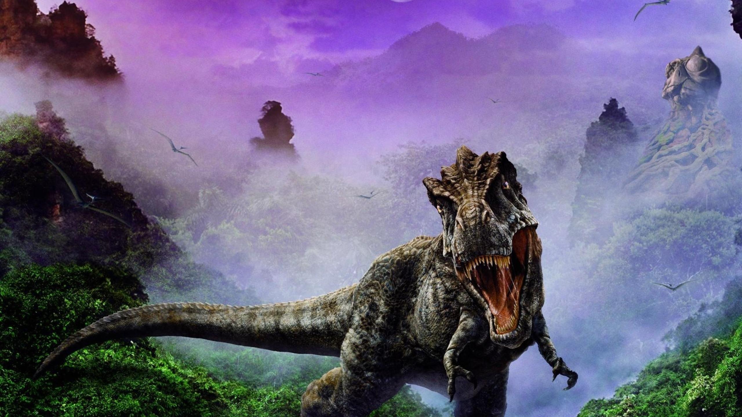 2560x1440 Dinosaur Jaws Fangs 1440p Resolution Wallpaper
