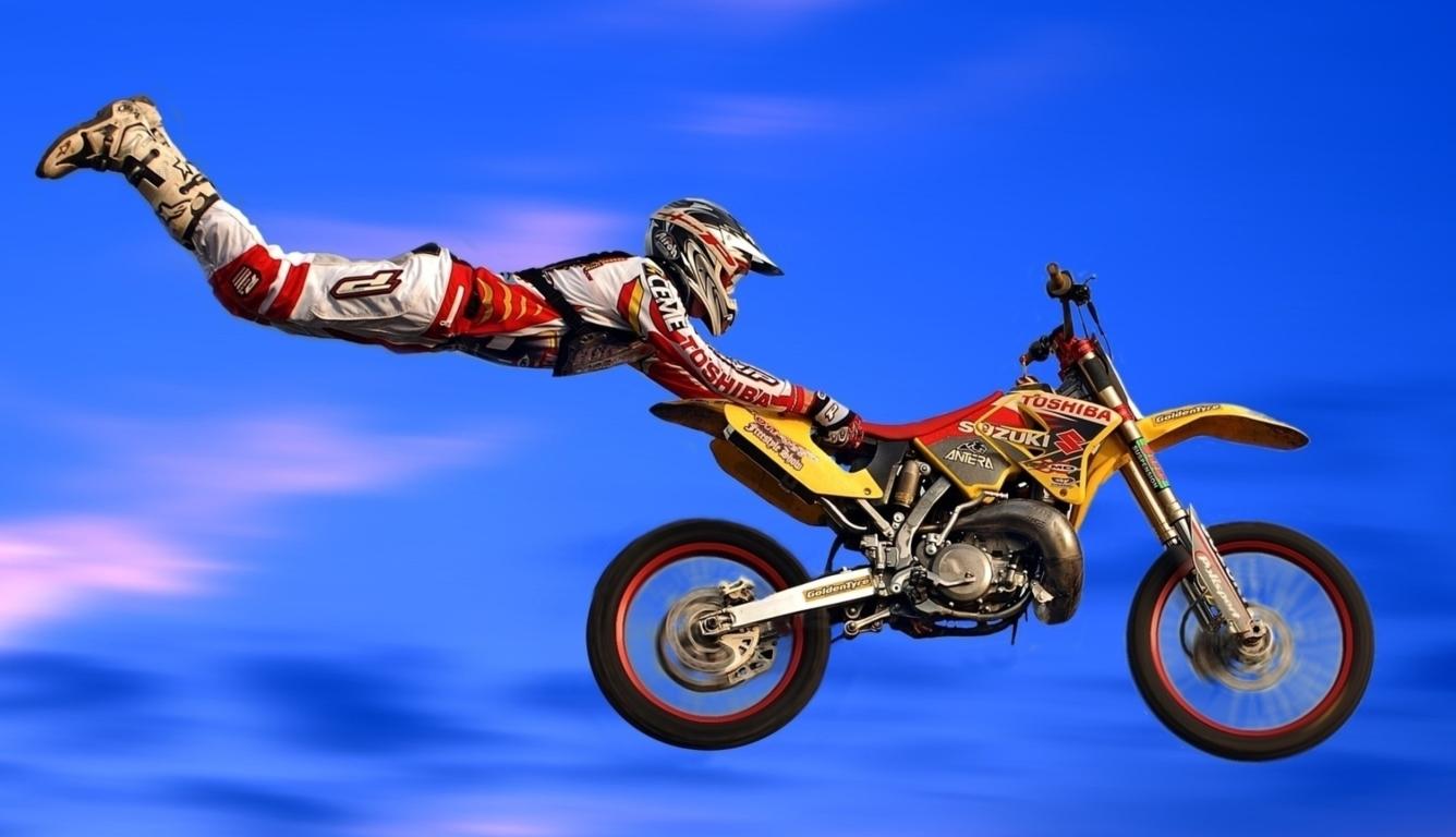 1336x768 dirt, action, bike HD Laptop ...