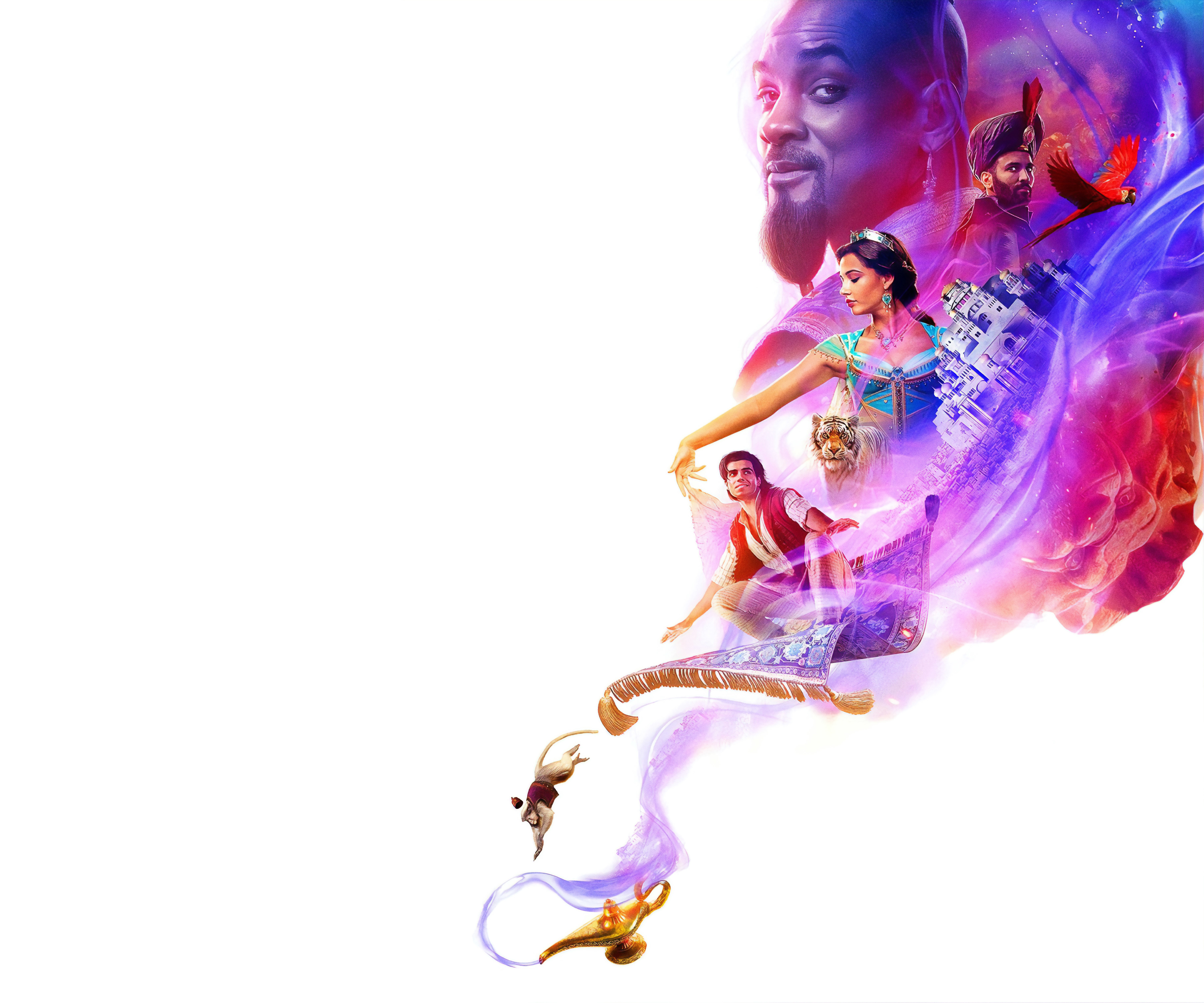 Movie Poster 2019: Disney Aladdin 2019 4K Wallpaper, HD Movies 4K Wallpapers