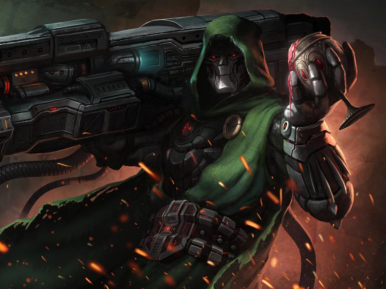 Doctor Doom Supervillain Marvel - 341.2KB