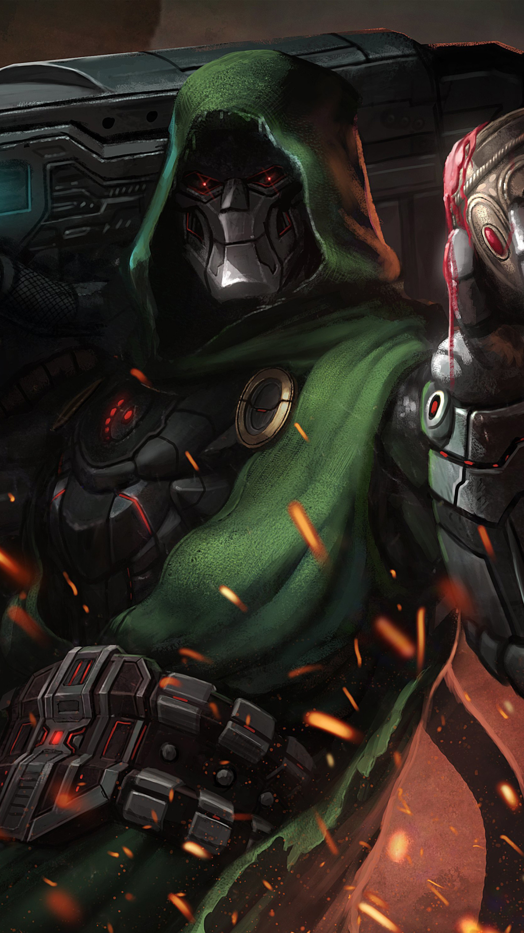 Doctor Doom Supervillain Marvel Comics, HD 4K Wallpaper