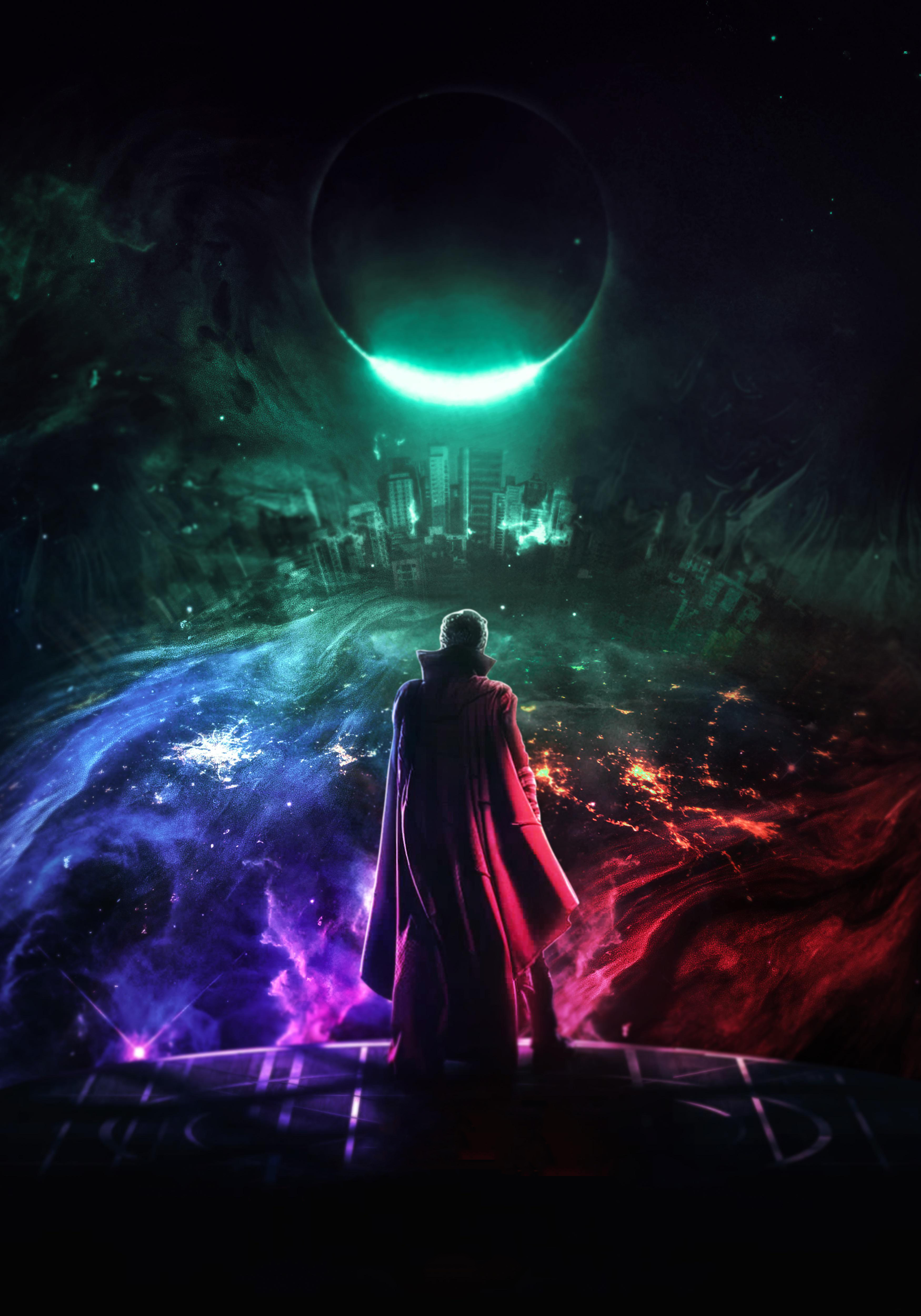 Doctor Strange In The Multiverse Of Madness Art Wallpaper
