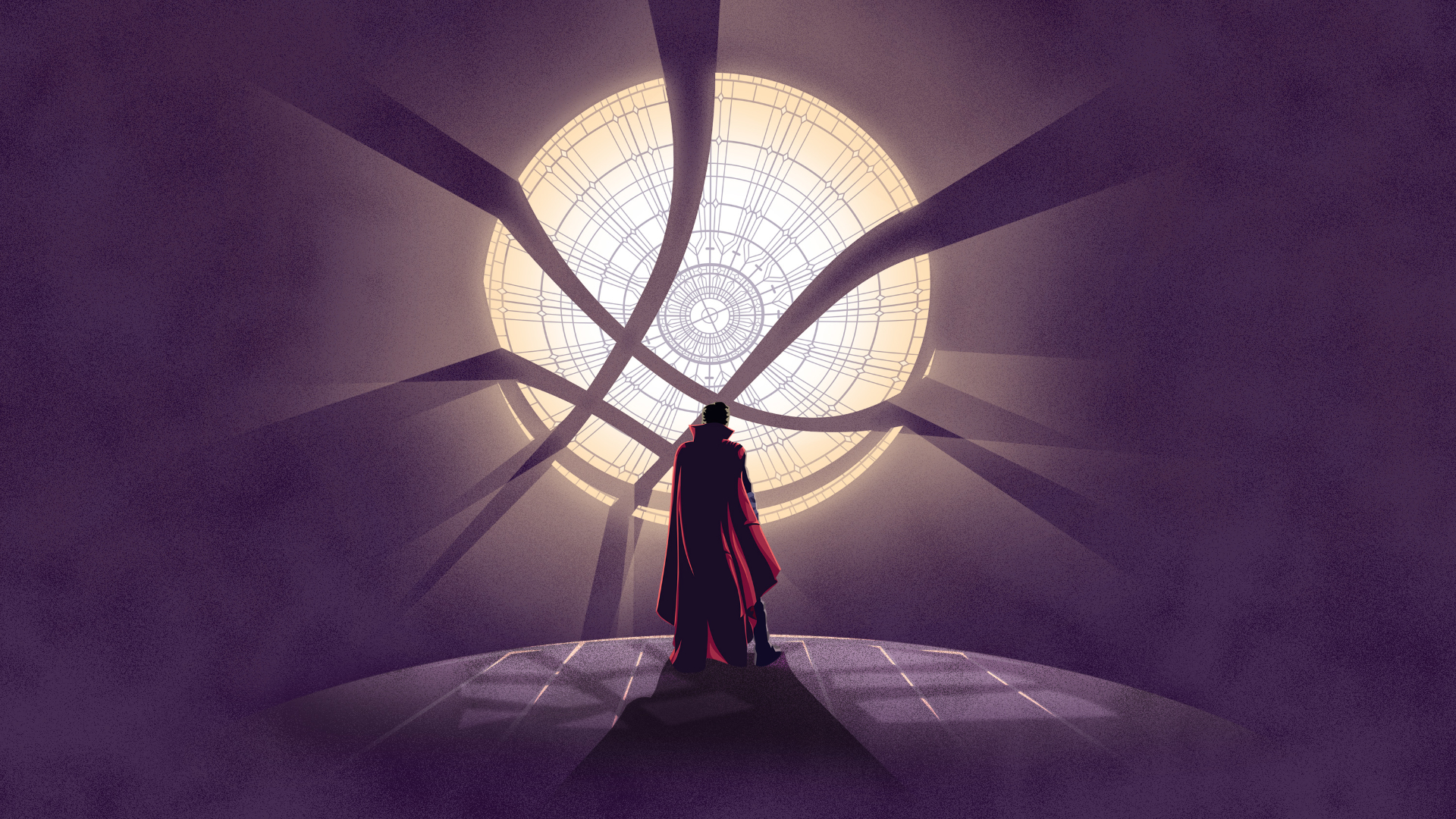1920x1080 Doctor Strange Minimal Artwork 1080p Laptop Full Hd