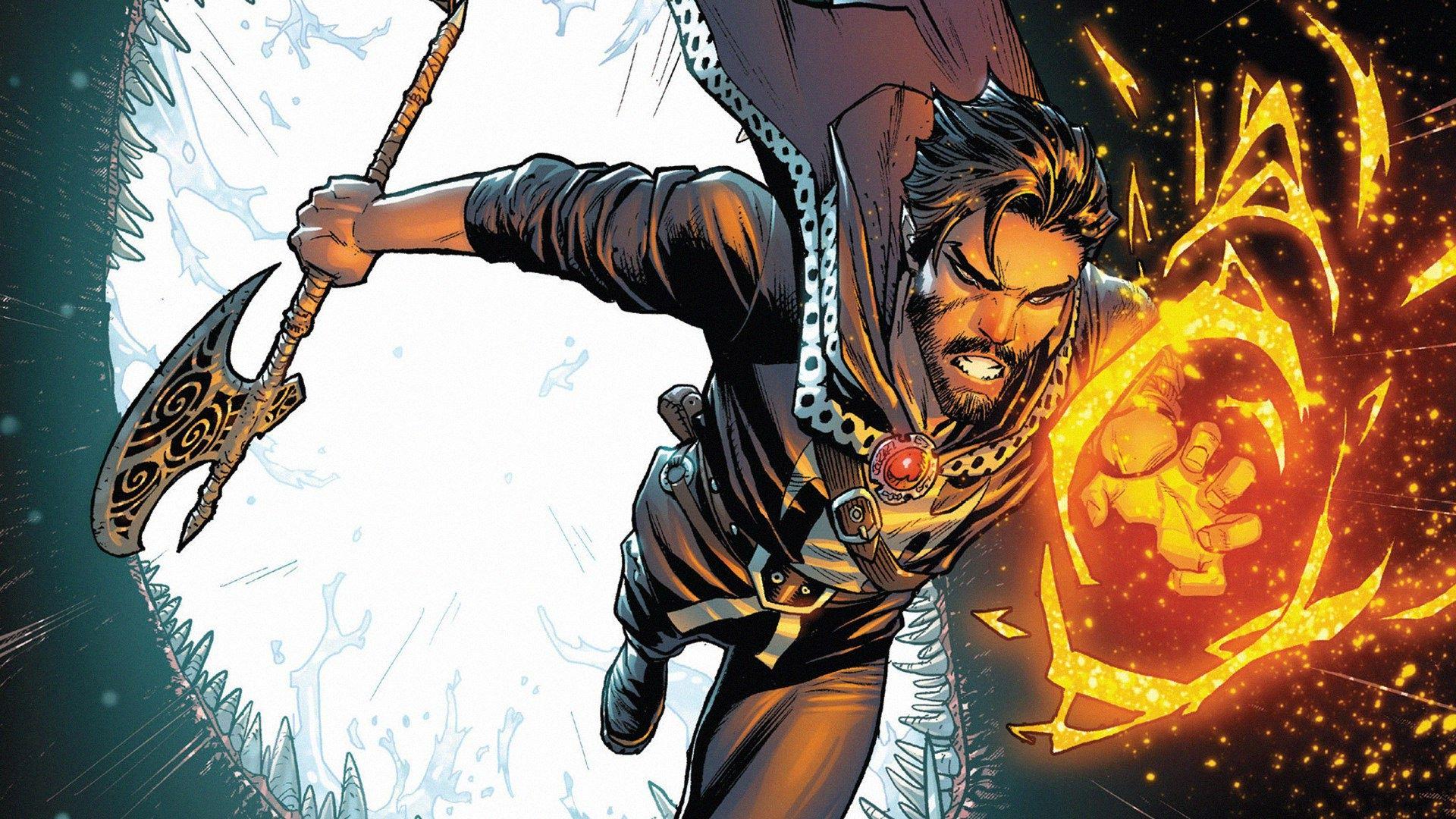 Doctor Strange Superhero Comic Art Wallpaper, HD ...