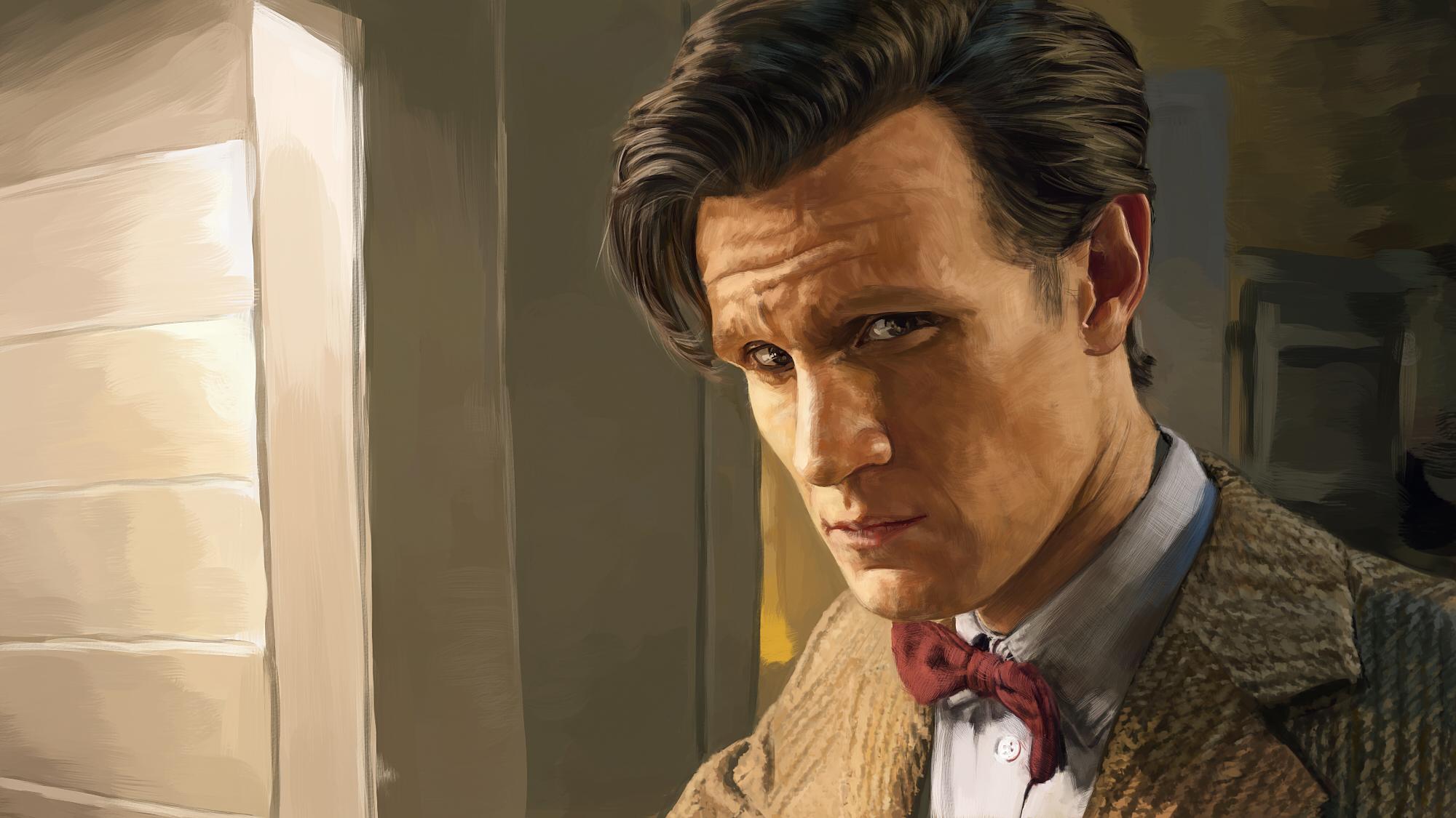 Doctor Who Eleventh Doctor Matt Smith Wallpaper Hd Tv Series 4k