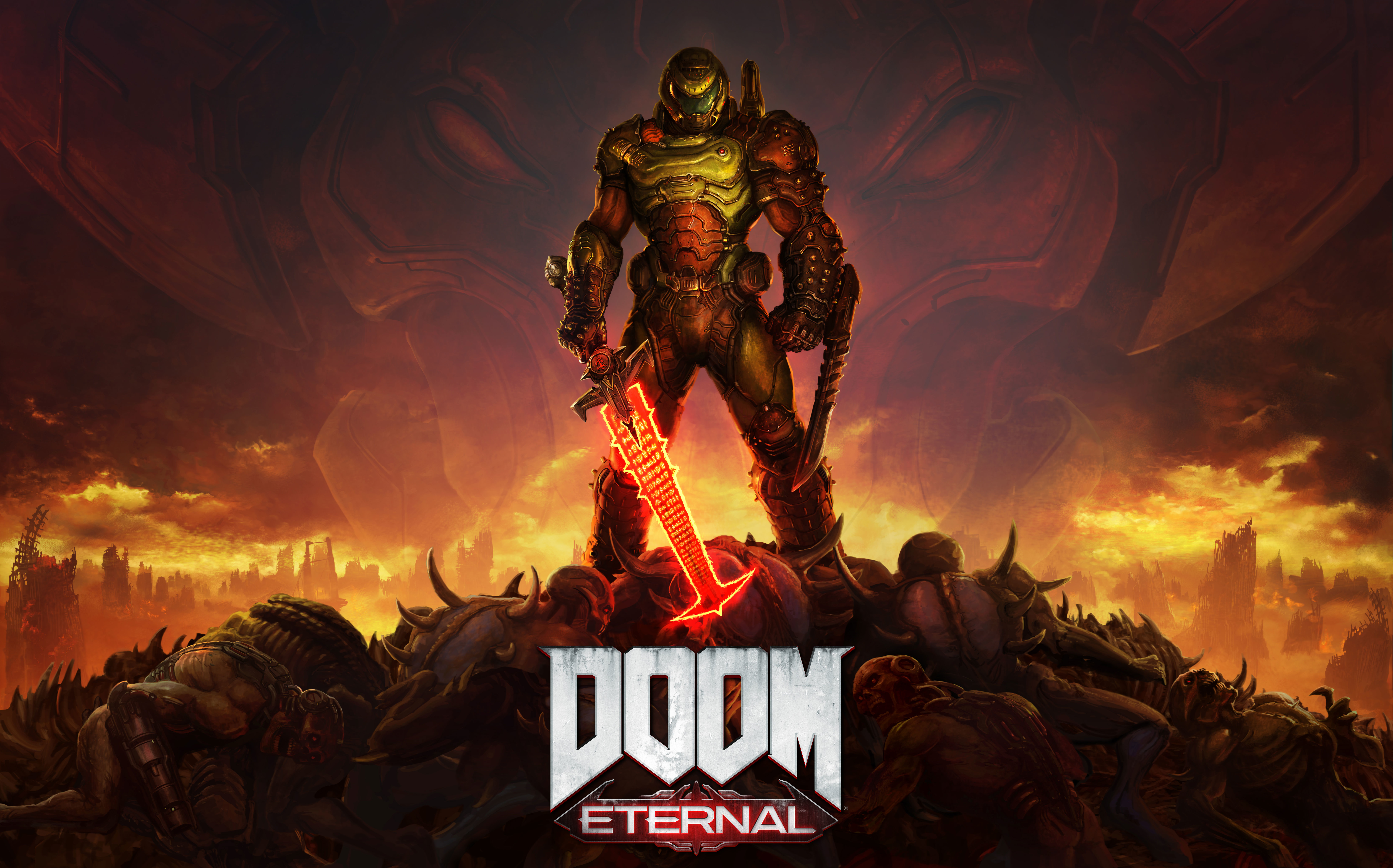 DOOM Eternal 8K Poster Wallpaper, HD Games 4K Wallpapers ...