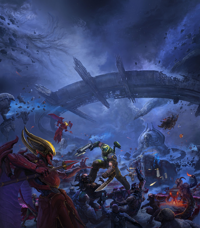 DOOM Eternal The Ancient Gods Wallpaper, HD Games 4K ...