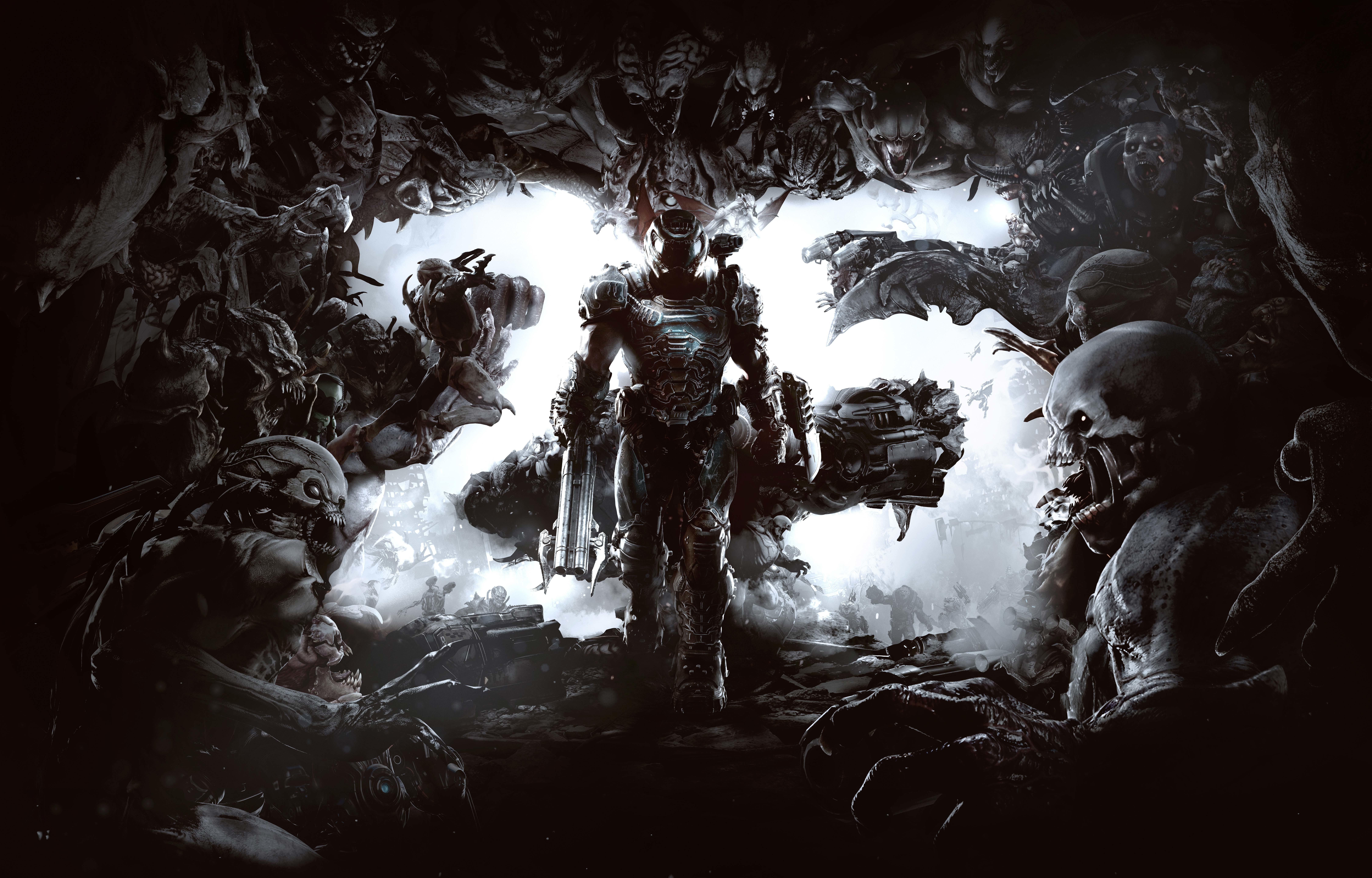 Doom Eternal Wallpaper, HD Games 4K Wallpapers, Images ...