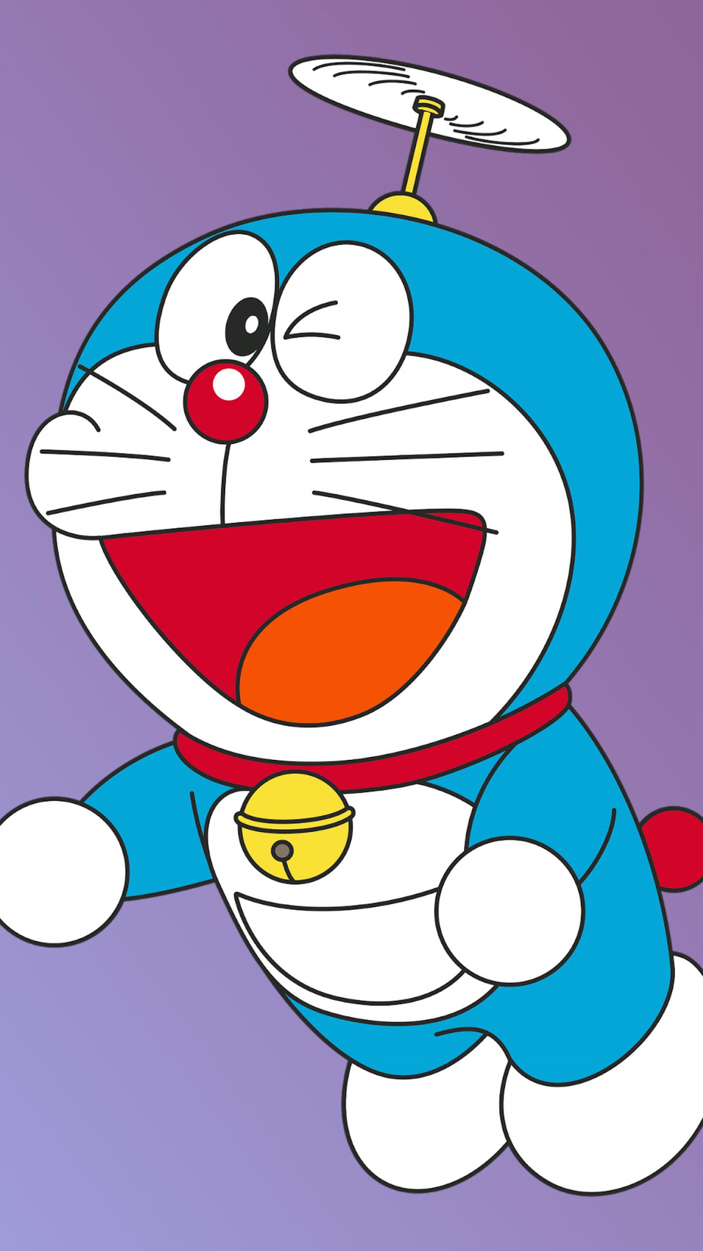 1440x2560 Doraemon Minimal 4K Samsung Galaxy S6,S7,Google ...