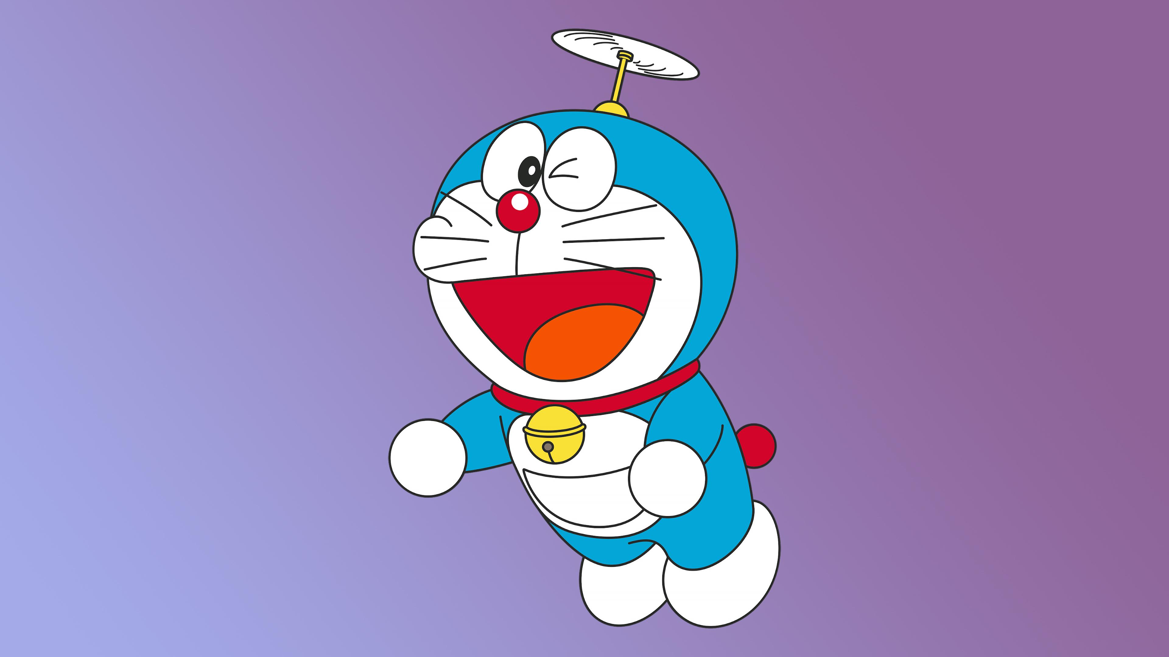 Doraemon Minimal 4k Wallpaper Hd Cartoon 4k Wallpapers Images