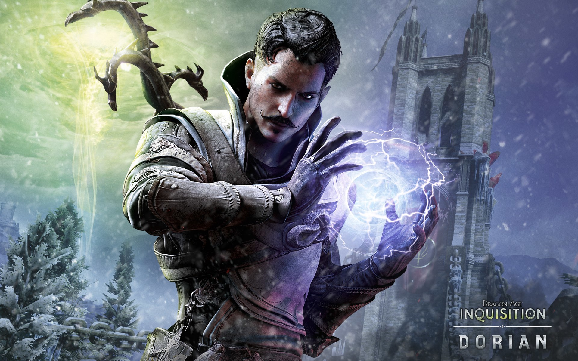 Dragon Age Inquisition Magician Wallpaper Hd Games 4k Wallpapers