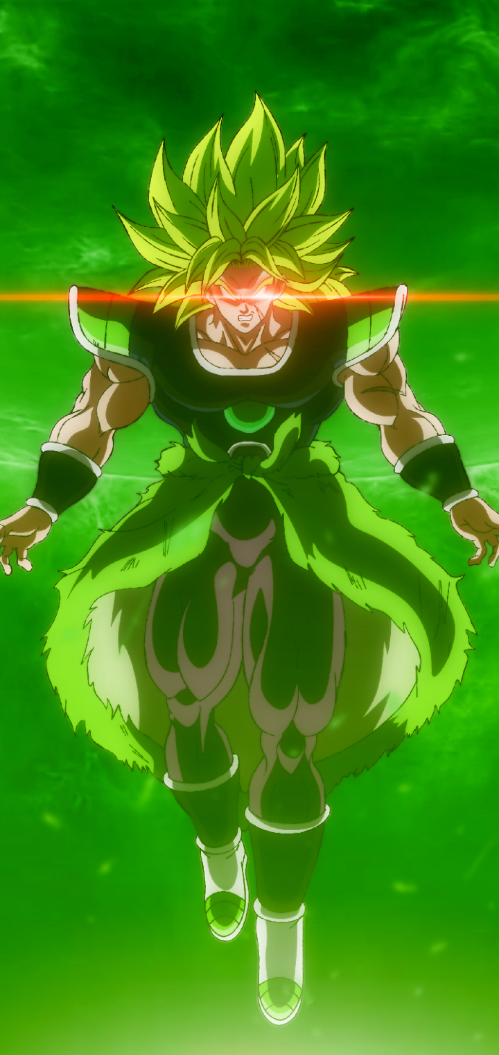 720x1520 Dragon Ball Super Broly Movie 720x1520 Resolution