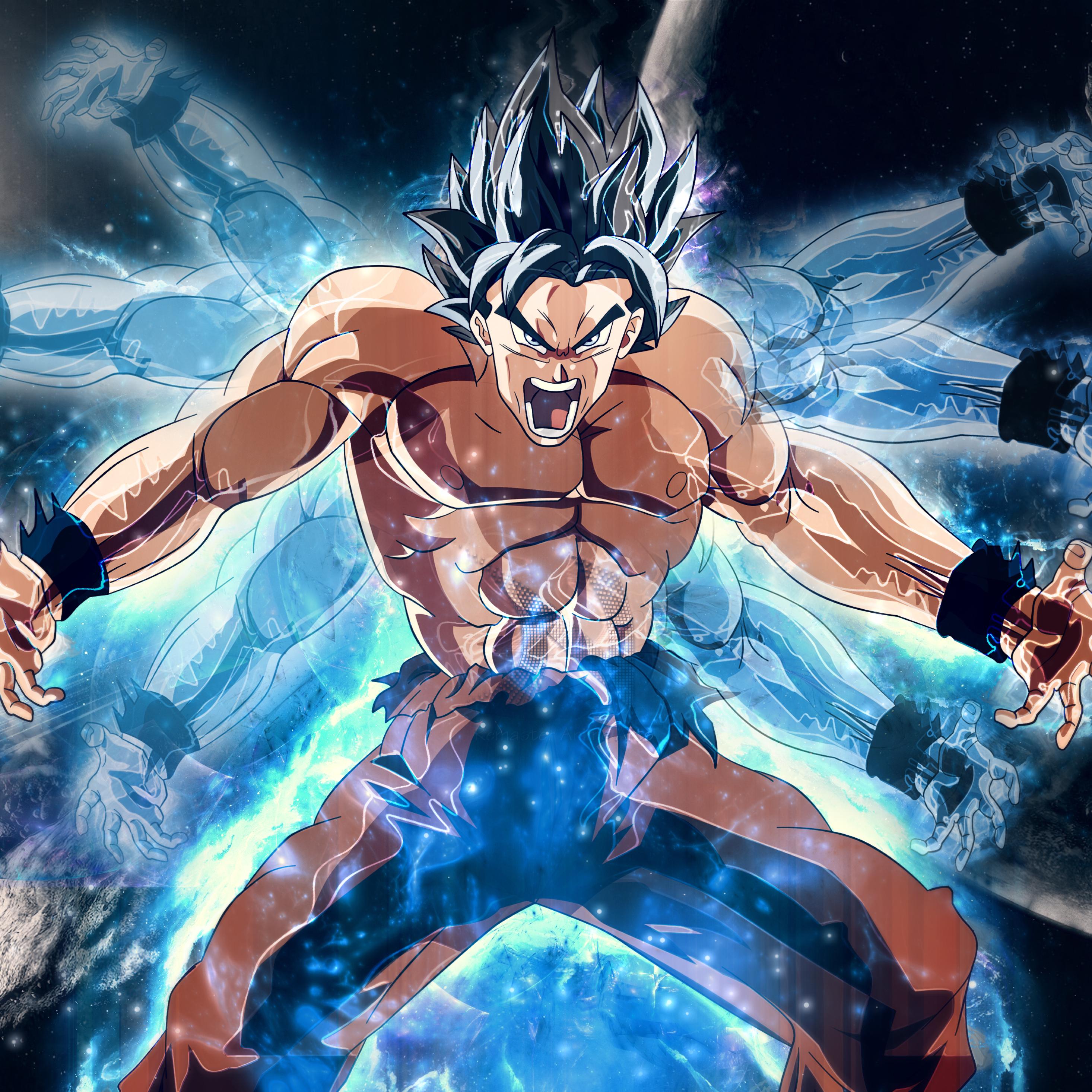 Dragon Ball Super Christmas Wallpaper: Dragon Ball Super Goku Angry, HD 4K Wallpaper