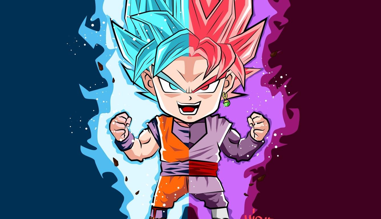 1336x768 Dragon Ball Super Goku HD