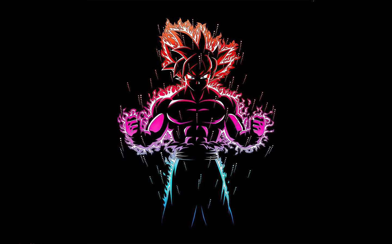 1440x900 Dragon Ball Z Goku Ultra Instinct Fire 1440x900 ...