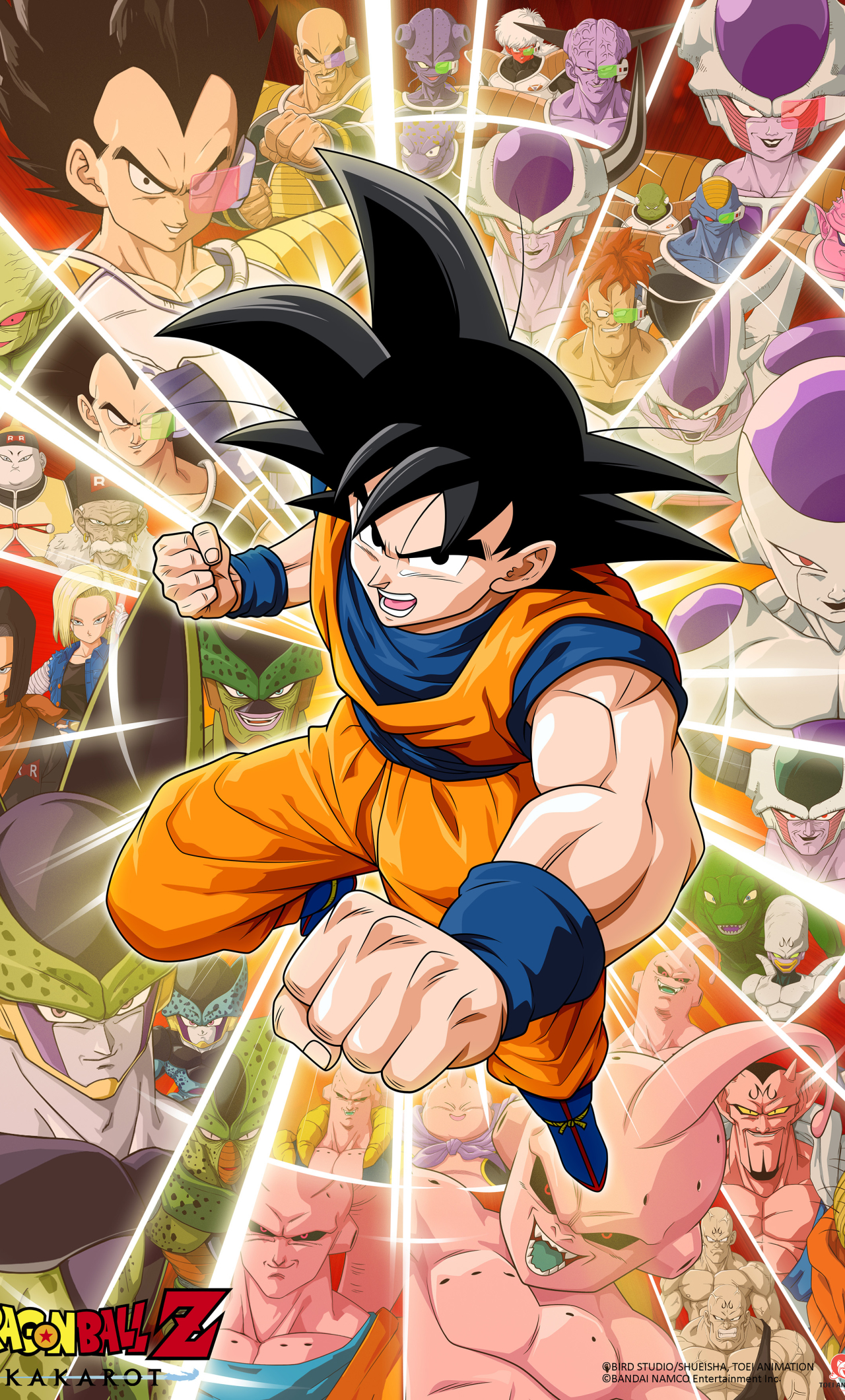 1280x2120 Dragon Ball Z Kakarot Game Poster iPhone 6 plus ...