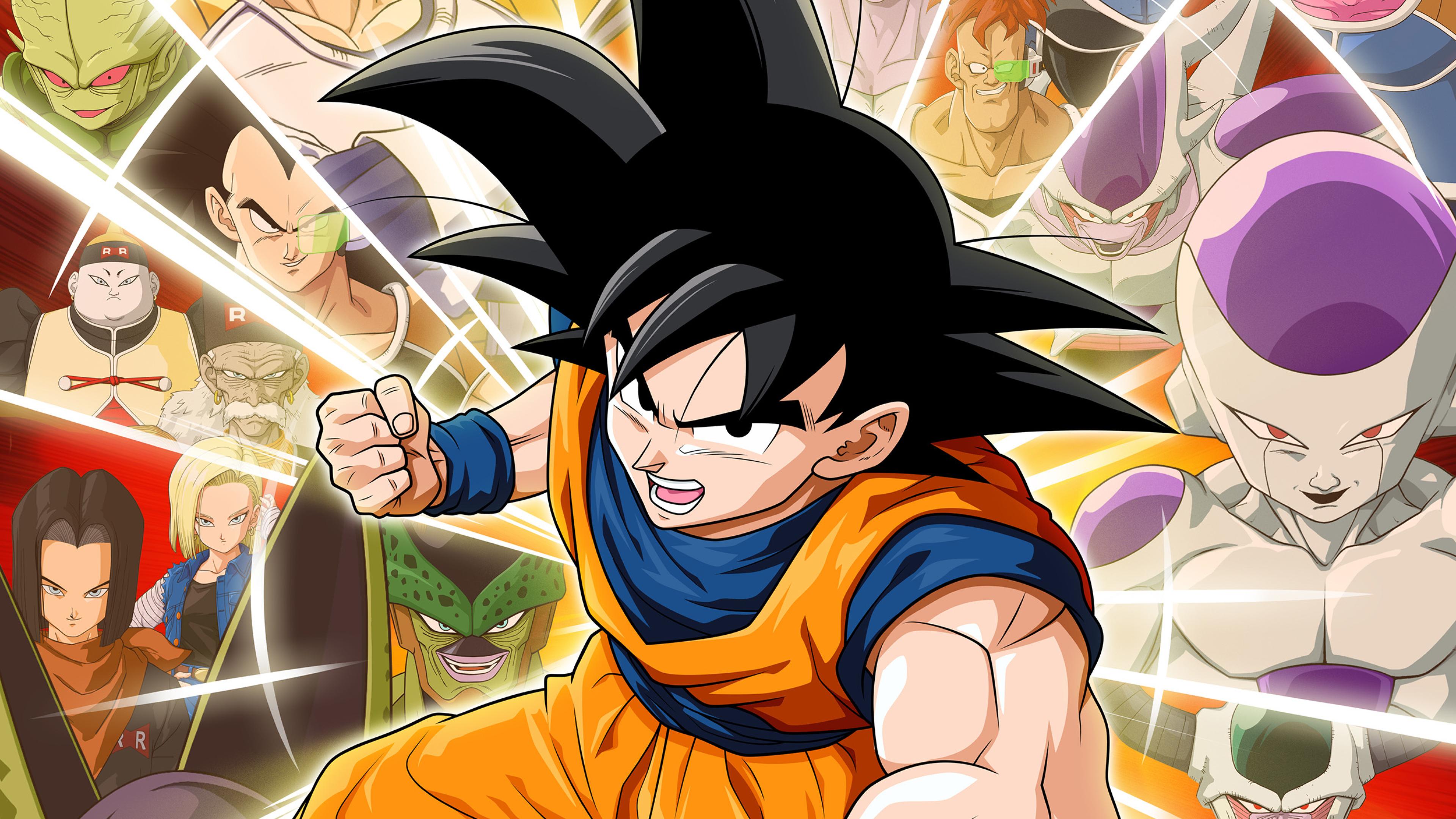 3840x2160 Dragon Ball Z Kakarot Game Poster 4K Wallpaper ...