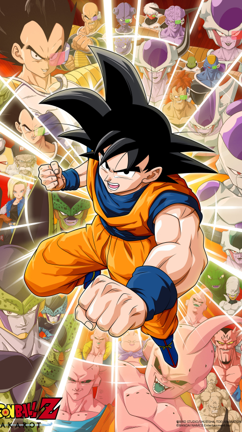 480x854 Dragon Ball Z Kakarot Game Poster Android One ...