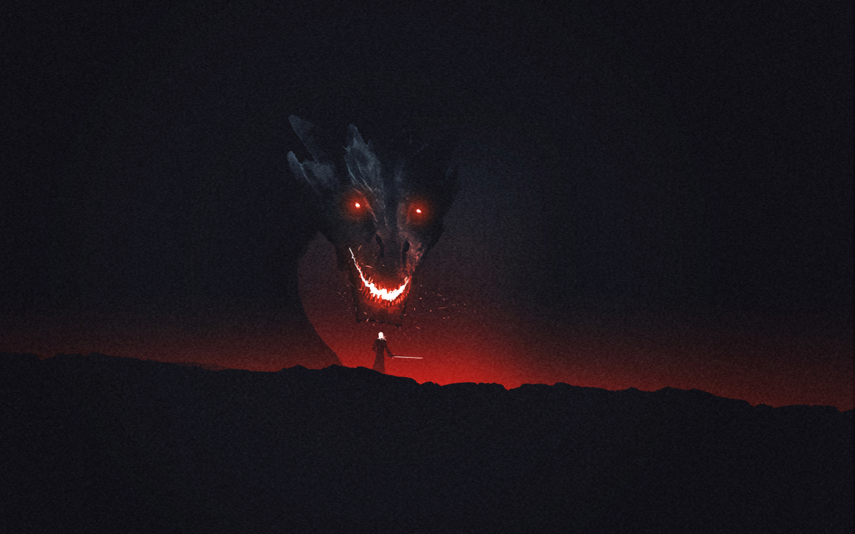 Dragon Game Of Thrones Artwork Hd 8k Wallpaper