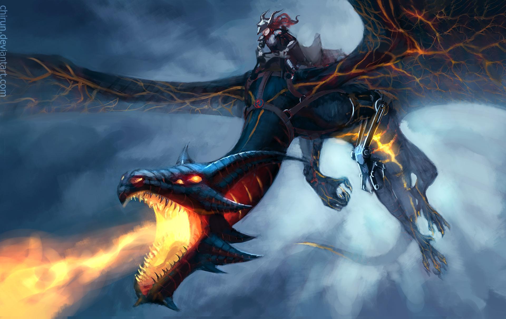 Dragon Rider Wallpaper Hd Artist 4k Wallpapers Images