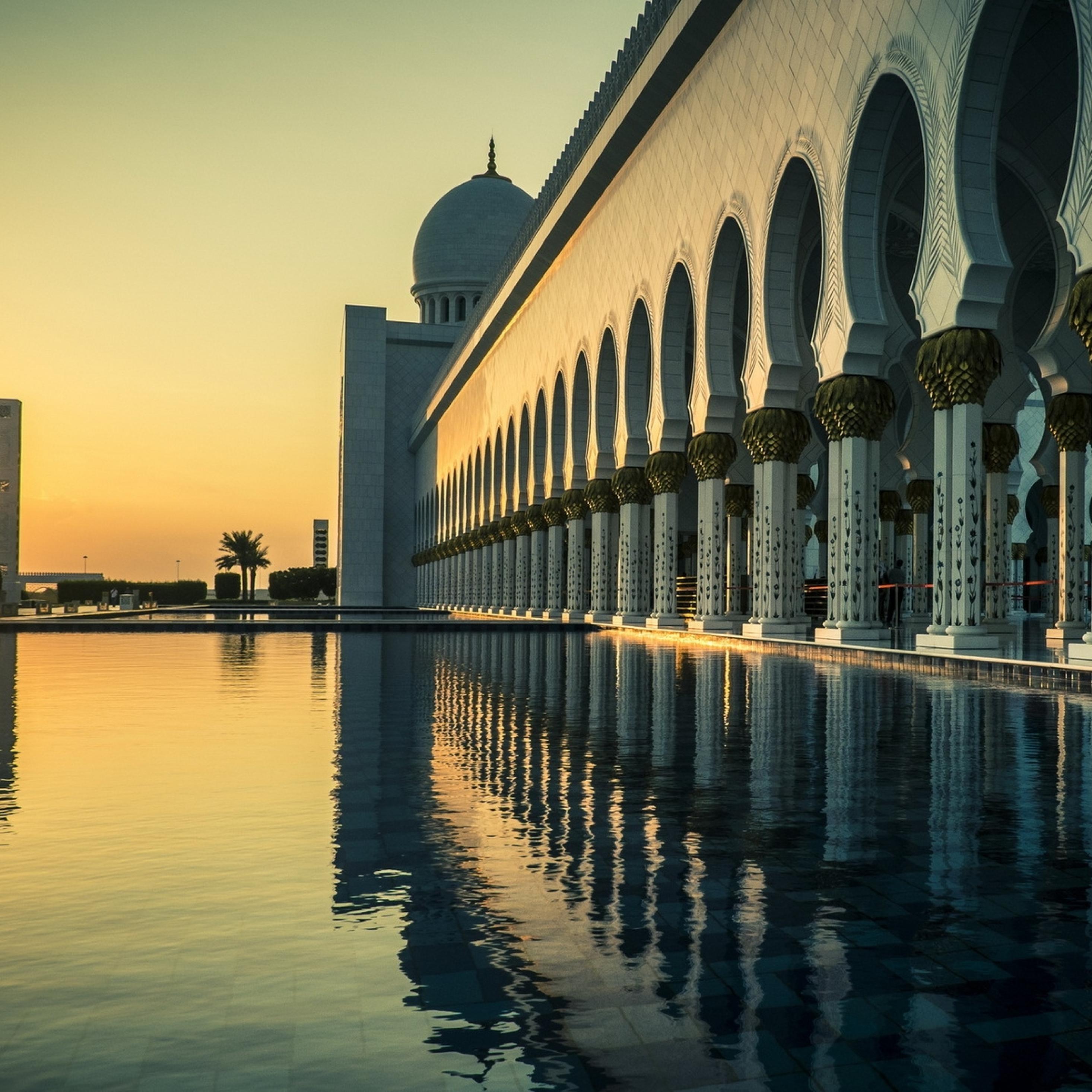 2932x2932 Dubai, Water, Beautiful Ipad Pro Retina Display