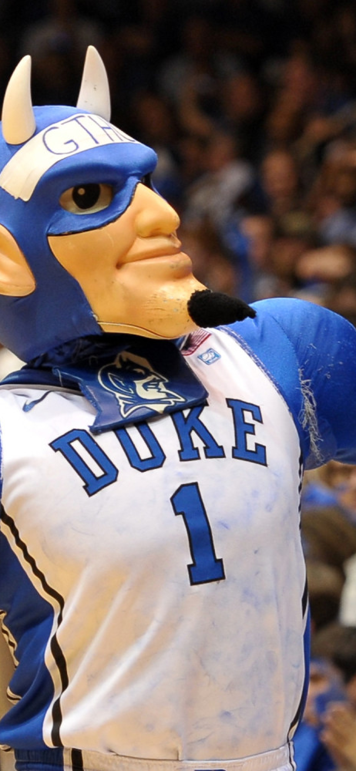 1242x2688 Duke Blue Devils Mascot Basketball Iphone Xs Max