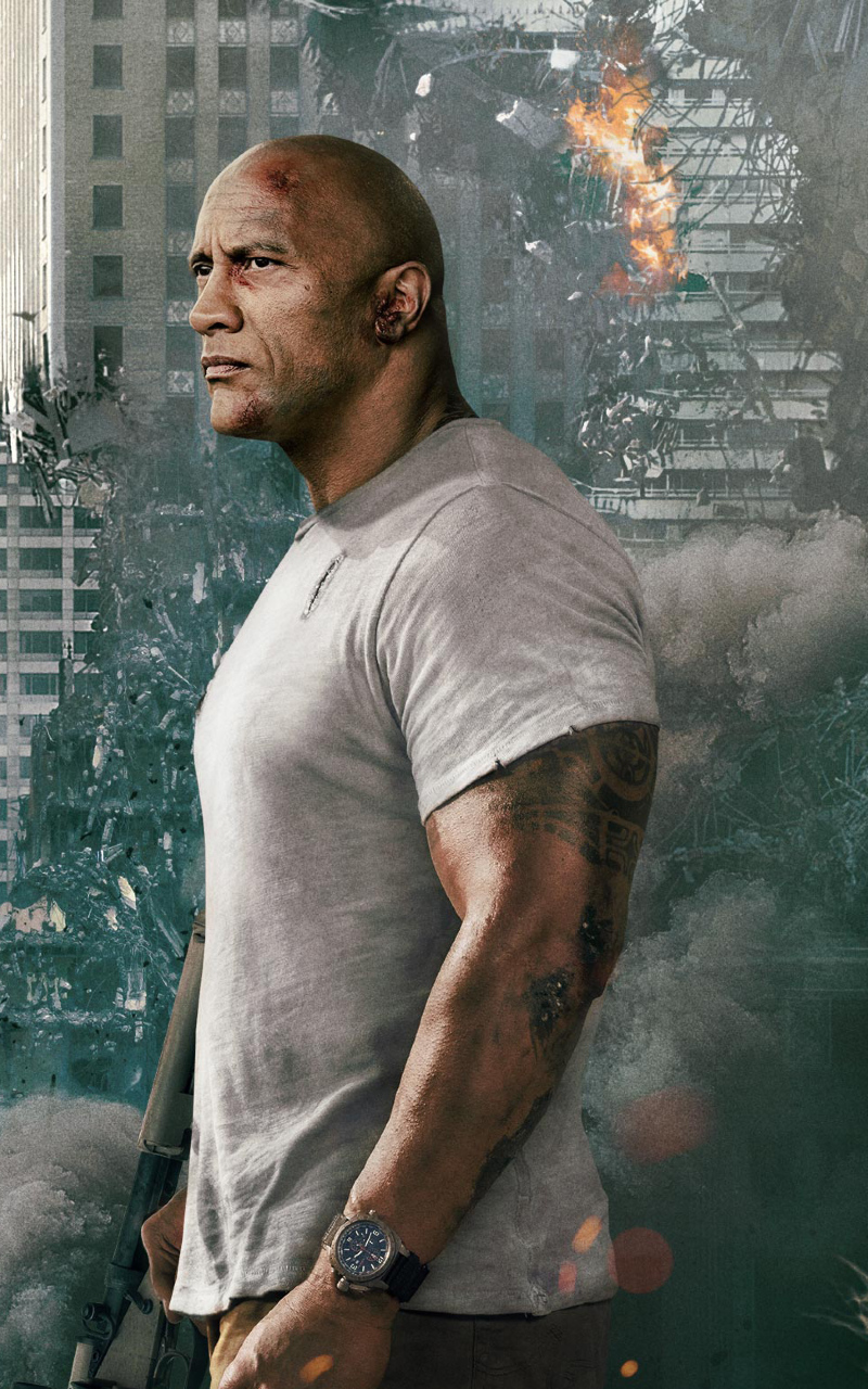 Dwayne Johnson Rampage Movie 2018 Full HD 2K Wallpaper