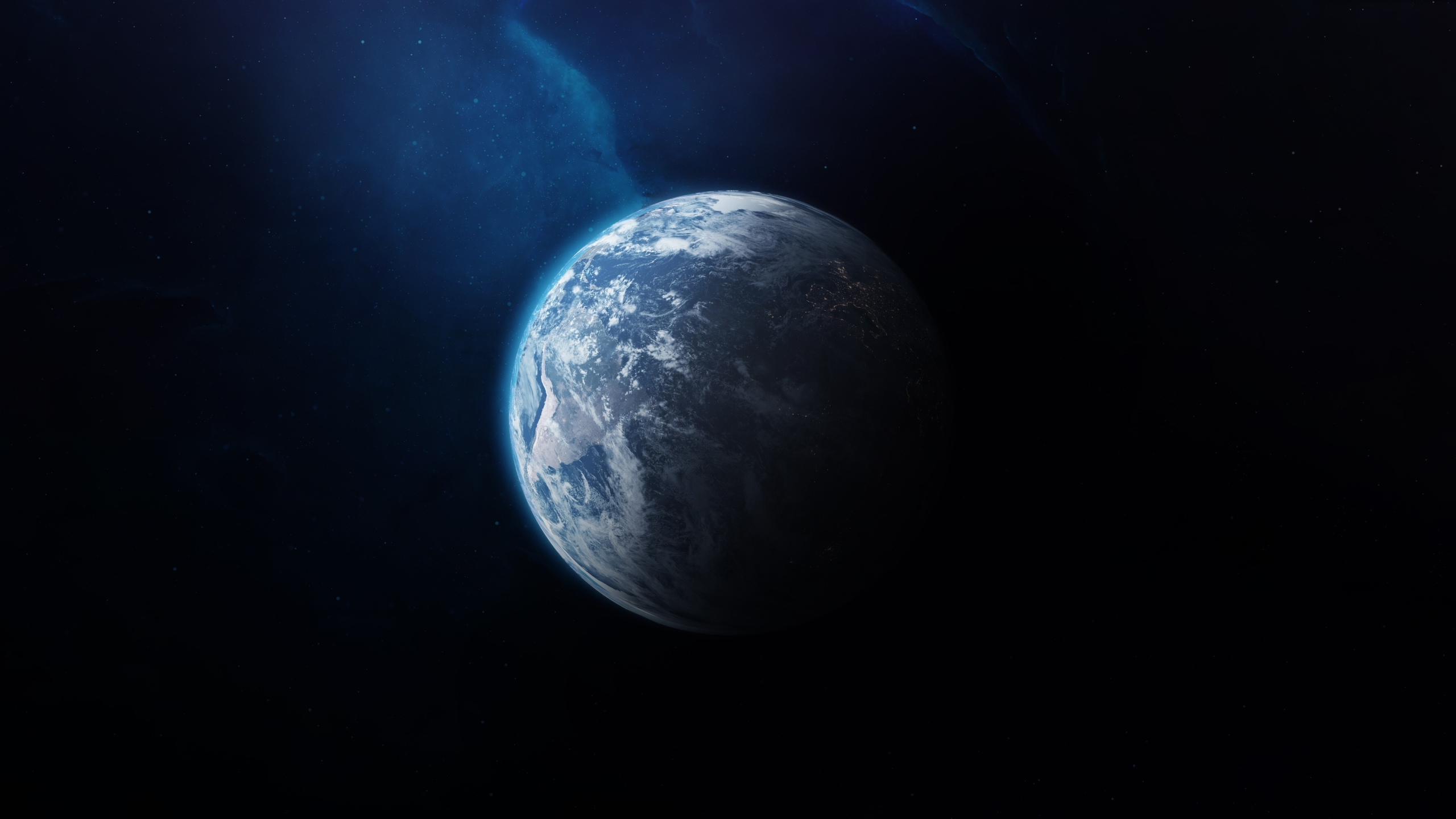 2560x1440 Earth From Outer Space 1440p Resolution Wallpaper Hd