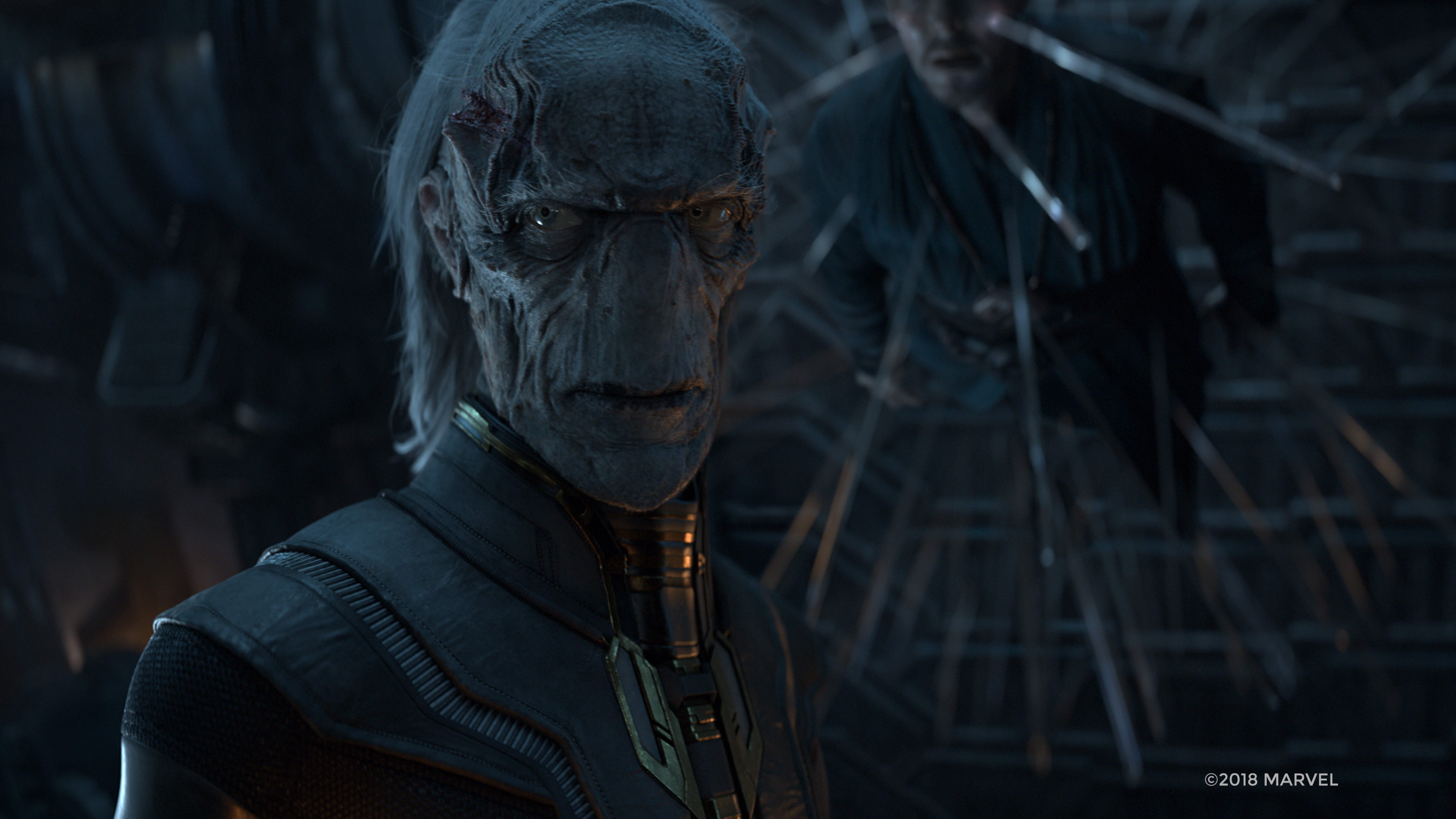 ebony maw in avengers infinity war 2018  hd 4k wallpaper
