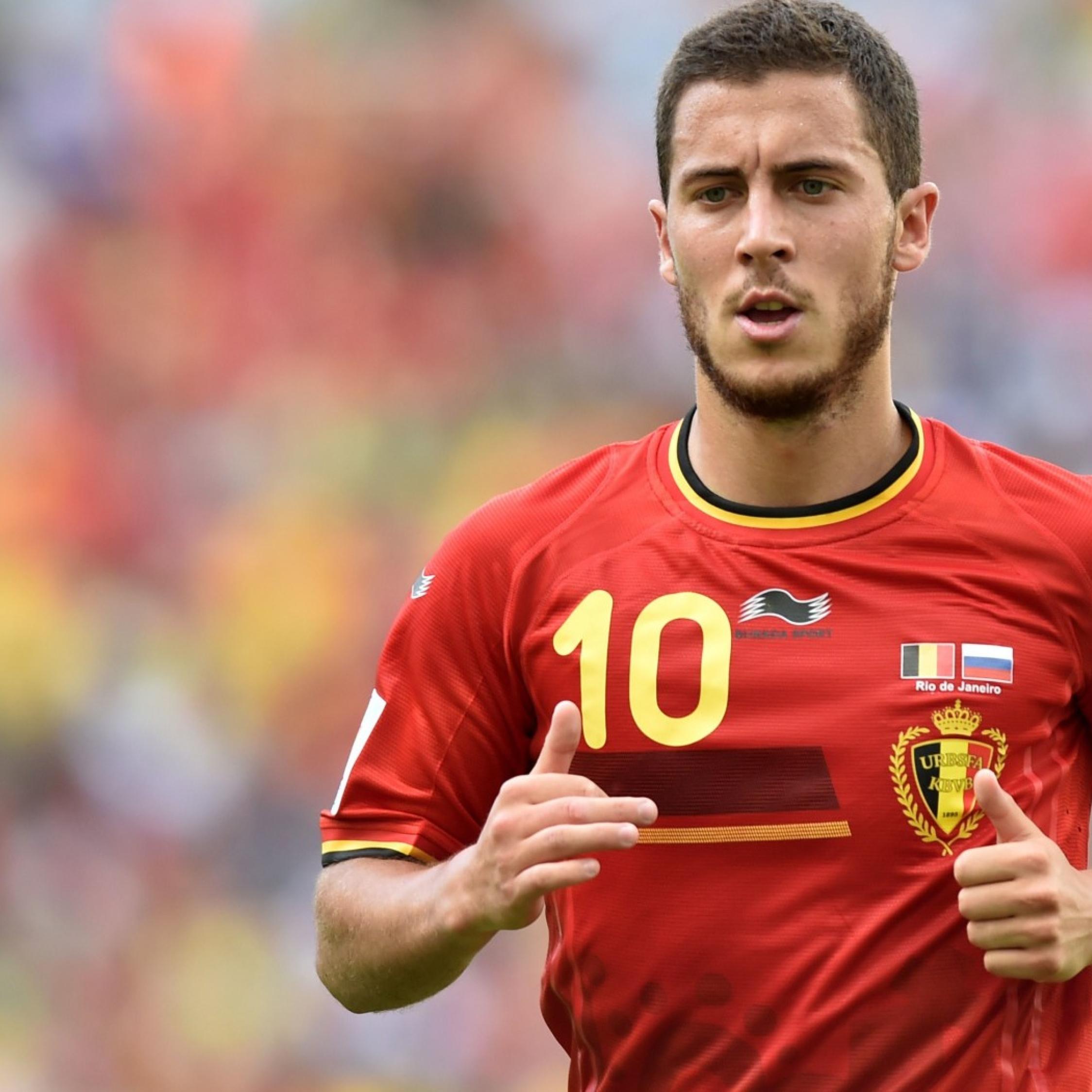 Eden Hazard, Belgium, Chelsea, Full HD Wallpaper