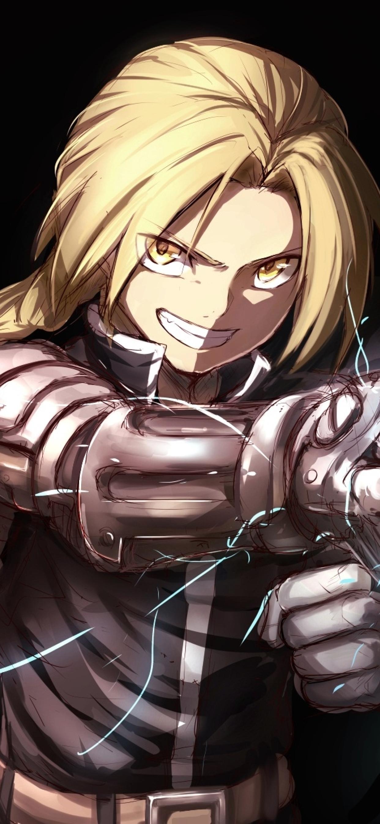 1242x2688 Edward Elric Fullmetal Alchemist Iphone XS MAX ...