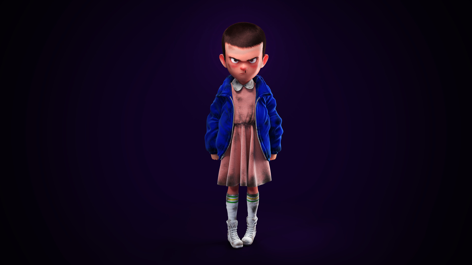 Eleven Stranger Things Art Wallpaper Hd Tv Series 4k