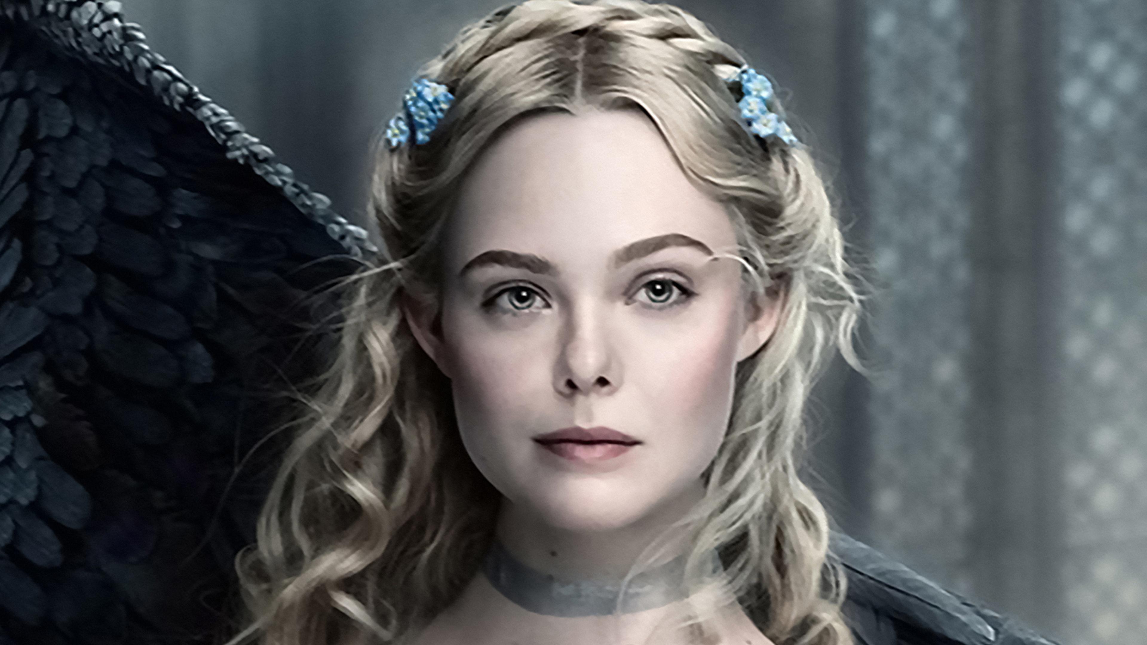 3840x2160 Elle Fanning In Maleficent 2 As Princess Aurora 4k