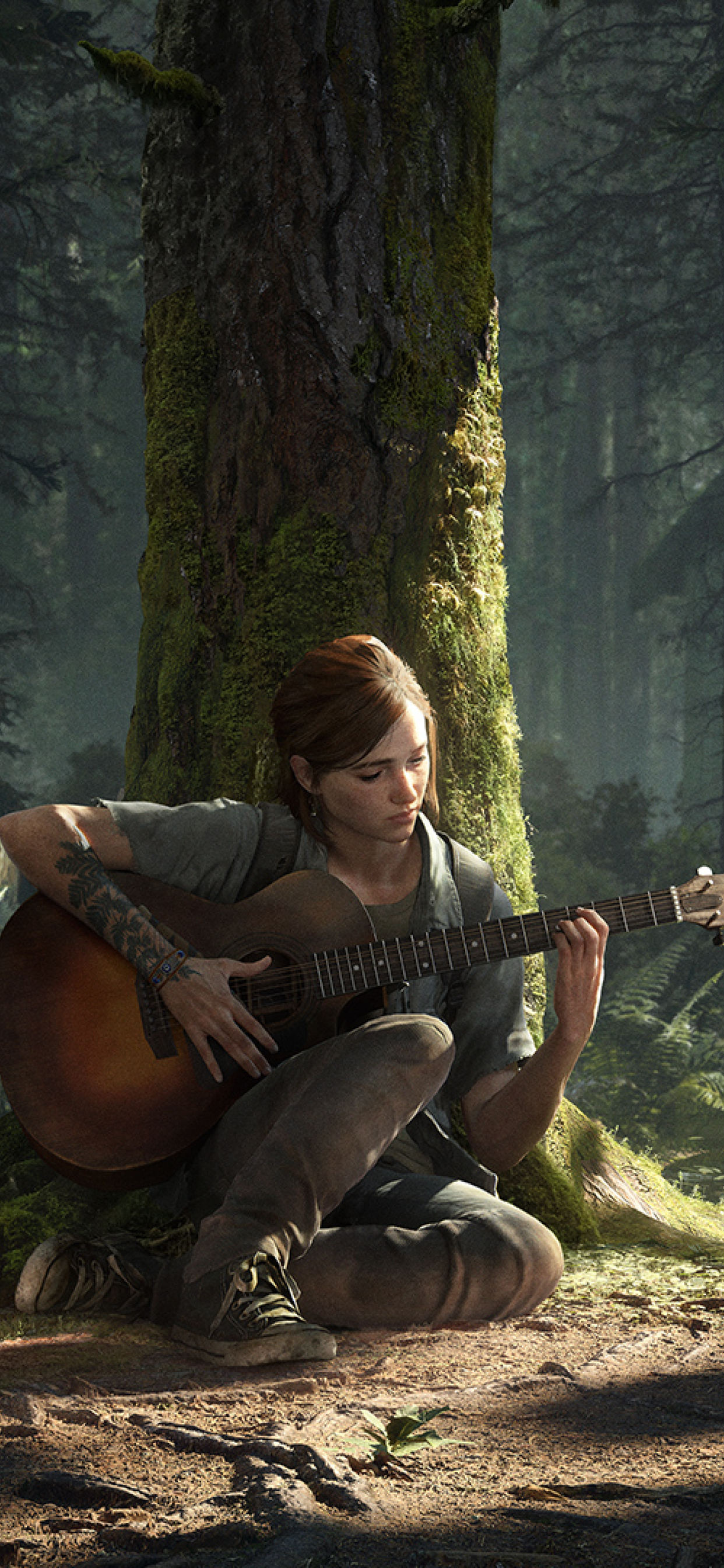 1242x2688 Ellie The Last of Us 2 Iphone XS MAX Wallpaper ...