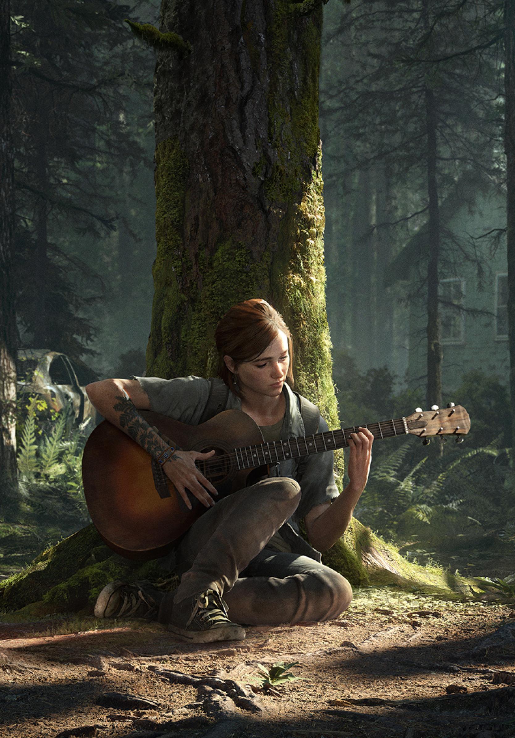 1668x2388 Ellie The Last Of Us 2 1668x2388 Resolution Wallpaper