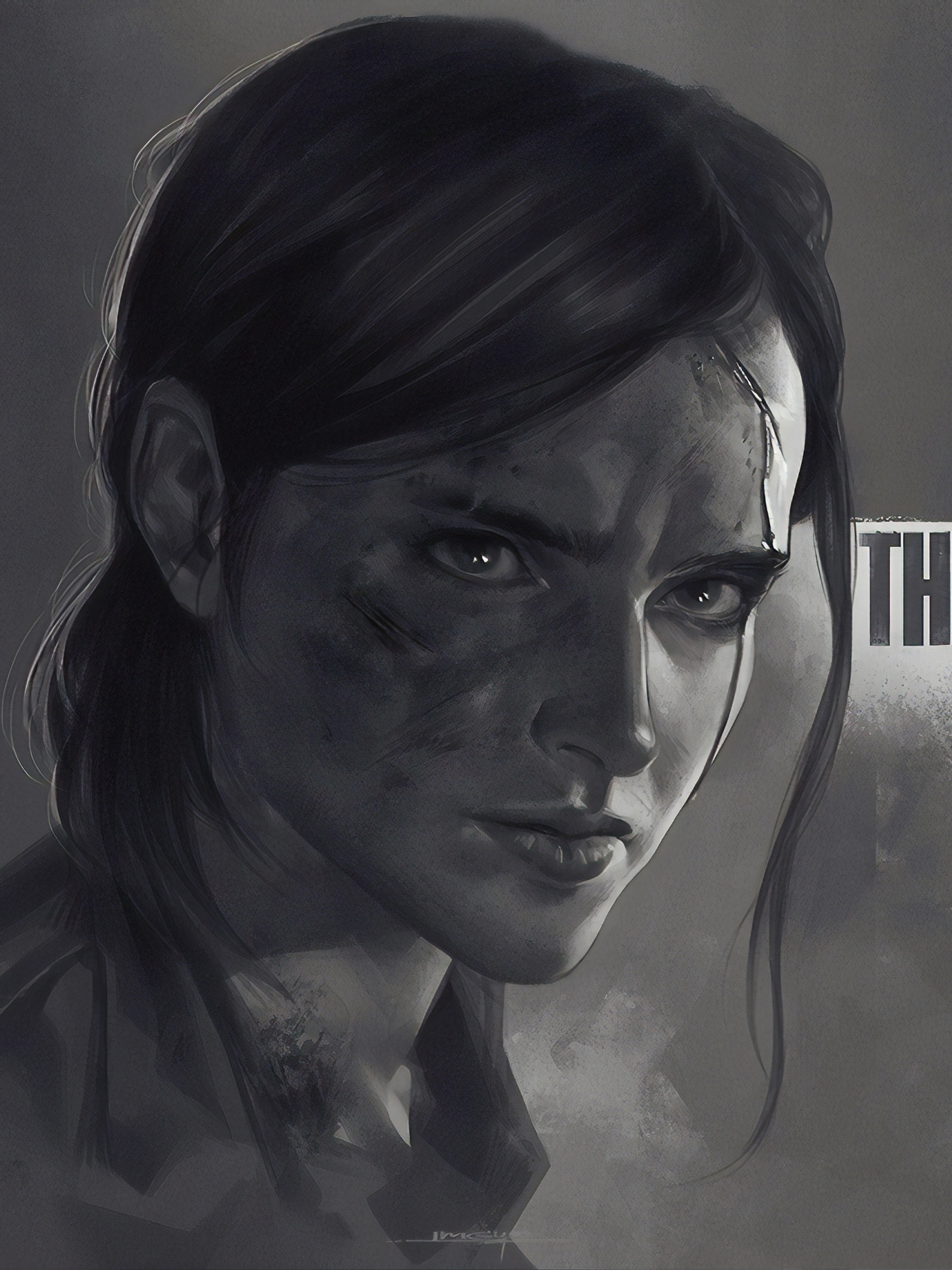 2048x2732 Ellie The Last Of Us Part 2 2048x2732 Resolution