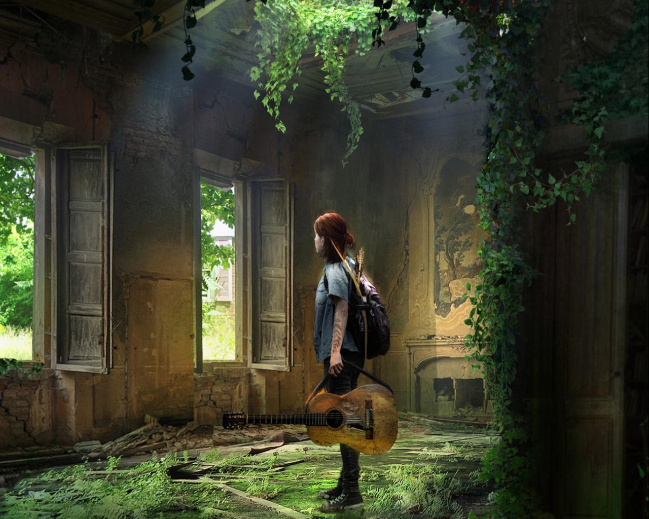 1280x1024 Ellie The Last Of Us 1280x1024 Resolution Wallpaper Hd