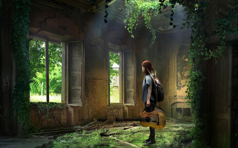 2880x1800 Ellie The Last Of Us Macbook Pro Retina Wallpaper Hd